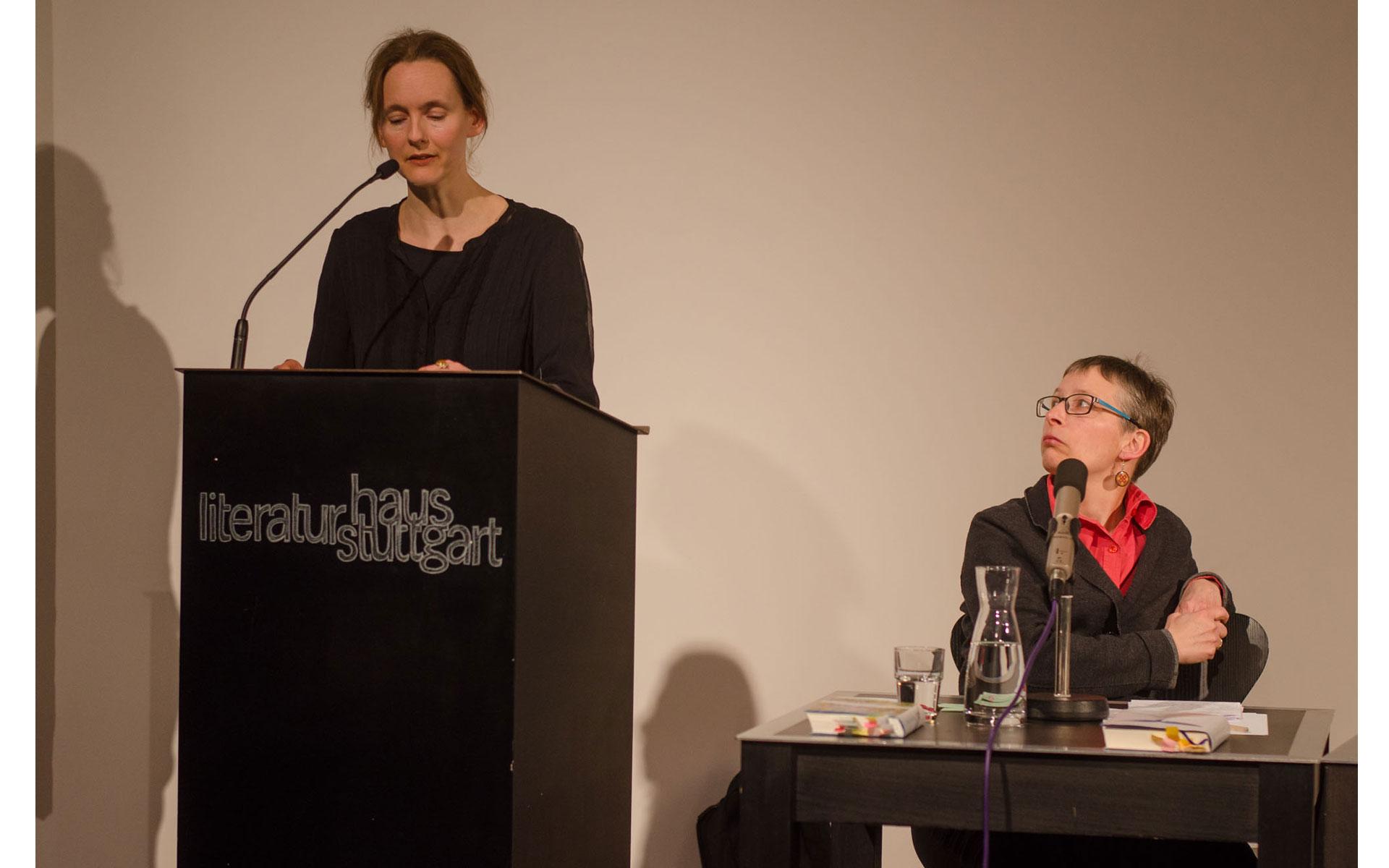 Tanja Maljartschuk, Zanna Sloniowska: Zerrspiegel. Erinnerungsbilder,                                                             Donnerstag, 04.04.19               /                   19.30              Uhr                               <br/>(c) Heiner Wittmann