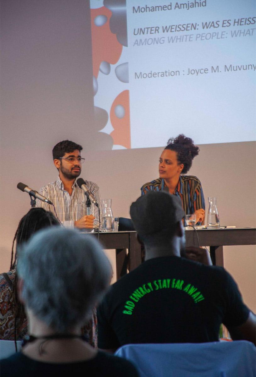 Mohamed Amjahid: Unter Weißen: Was es heißt, privilegiert zu sein <br/>(c) Lemia Bodden