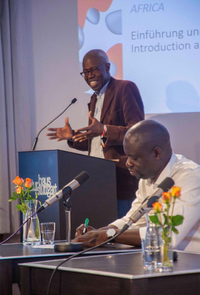 Souleymane Bachir Diagne: Afrikanische Philosophie und die Sprachen <br/>(c) Lemia Bodden