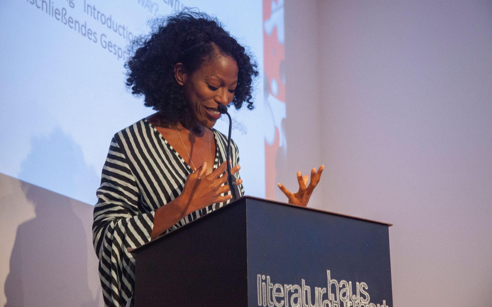 Taiye Selasi: Wessen Imaginäres ist es eigentlich? <br/>(c) Lemia Bodden