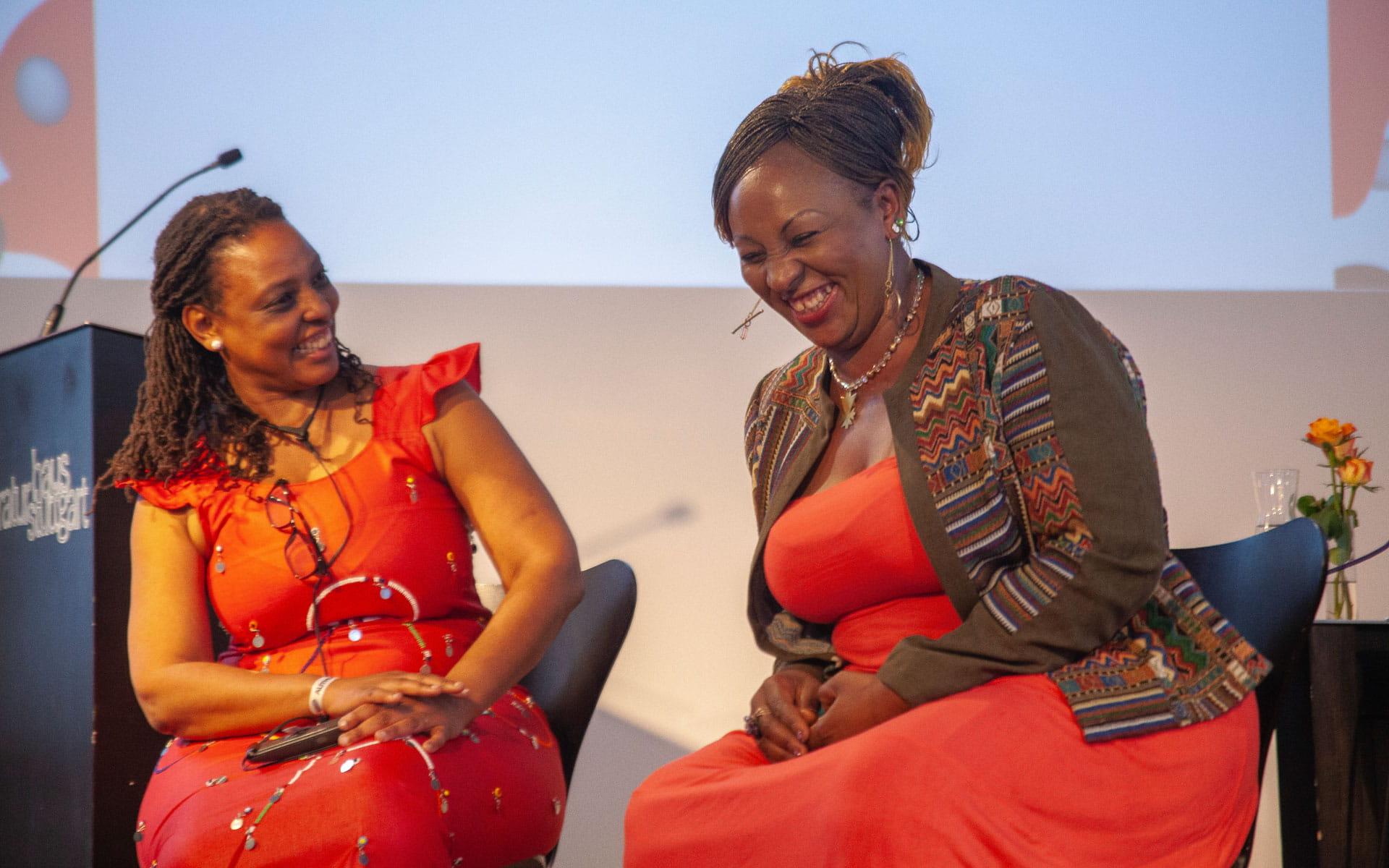 Sheila Ochugboju: Erzählungen vom Festival <br/>(c) Lemia Bodden