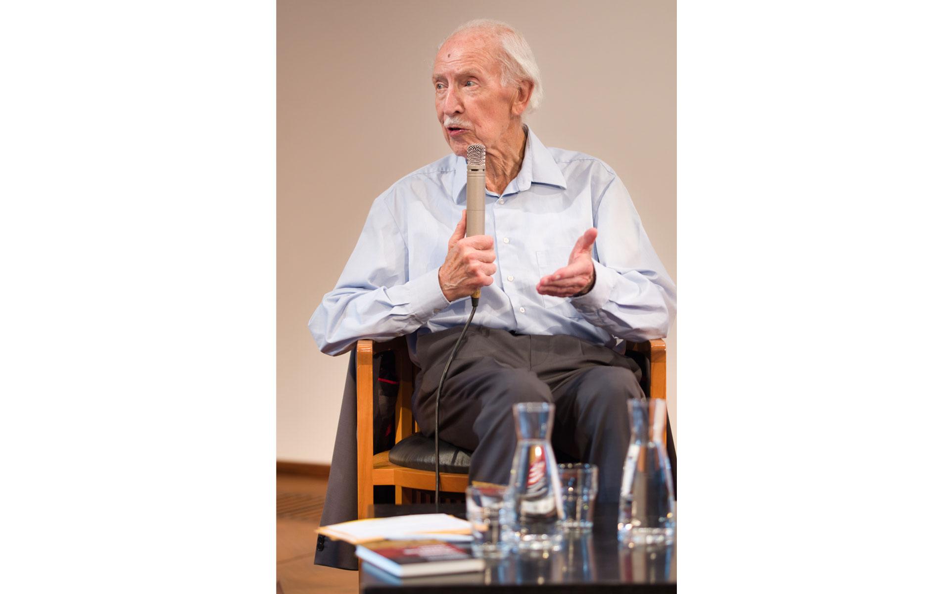 Muhterem Aras, Hermann Bausinger: Heimat. Kann die weg? <br/>(c) Sebastian Wenzel
