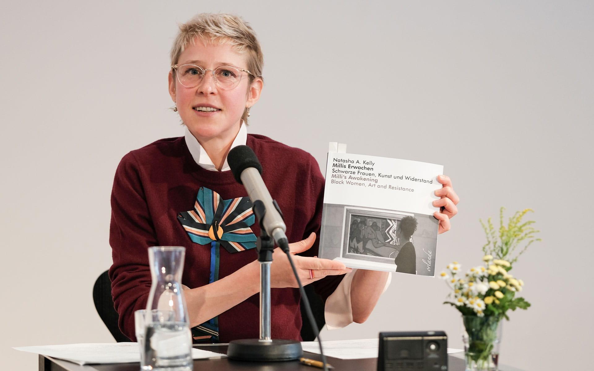Natasha Kelly: Millis Erwachen <br/>(c) Sebastian Wenzel