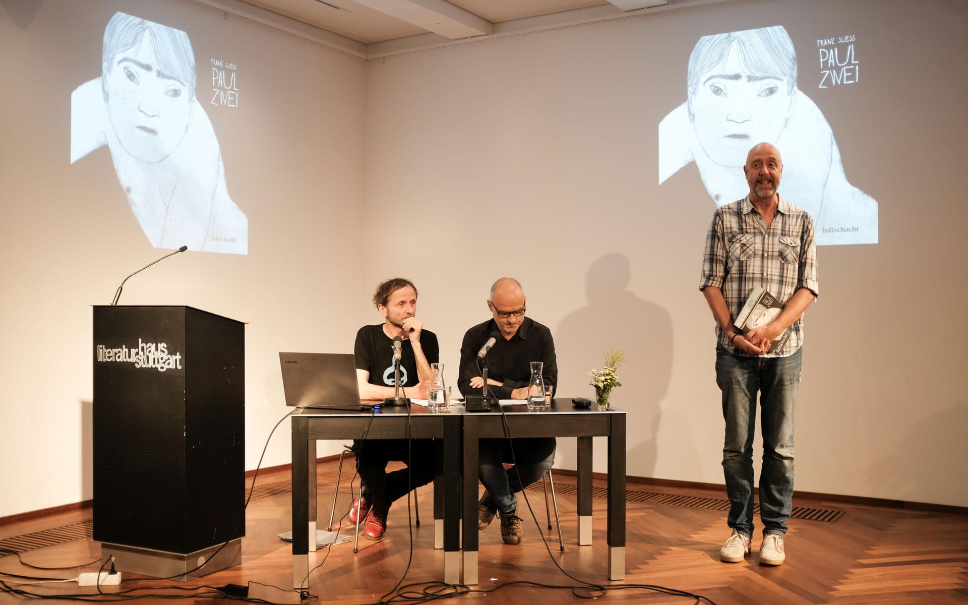 Franz Suess, Stefan Mäser: Paul Zwei,                                                               Samstag, 13.07.19               /                   19.00              Uhr                               <br/>(c) Sebastian Wenzel
