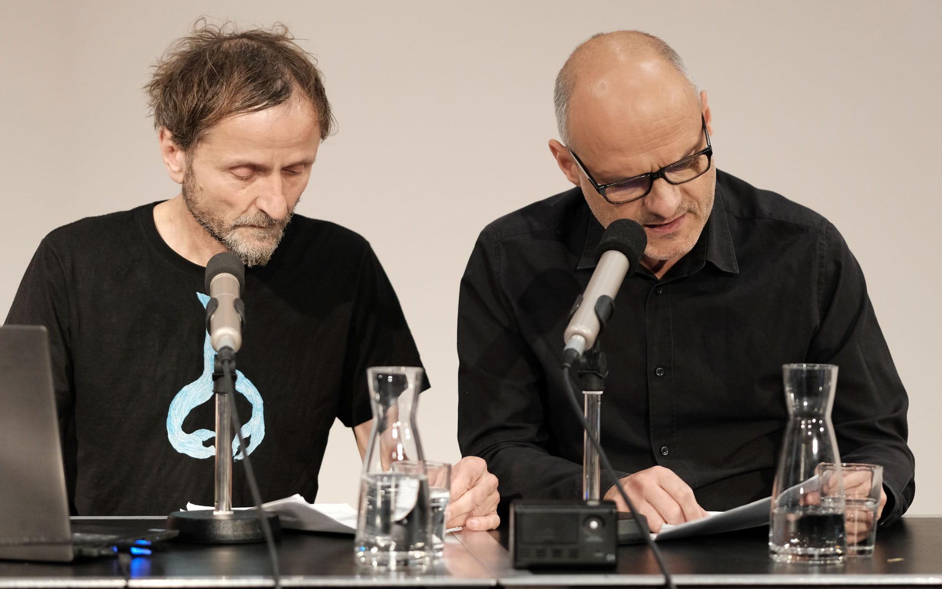 Franz Suess, Stefan Mäser: Paul Zwei <br/>(c) Sebastian Wenzel