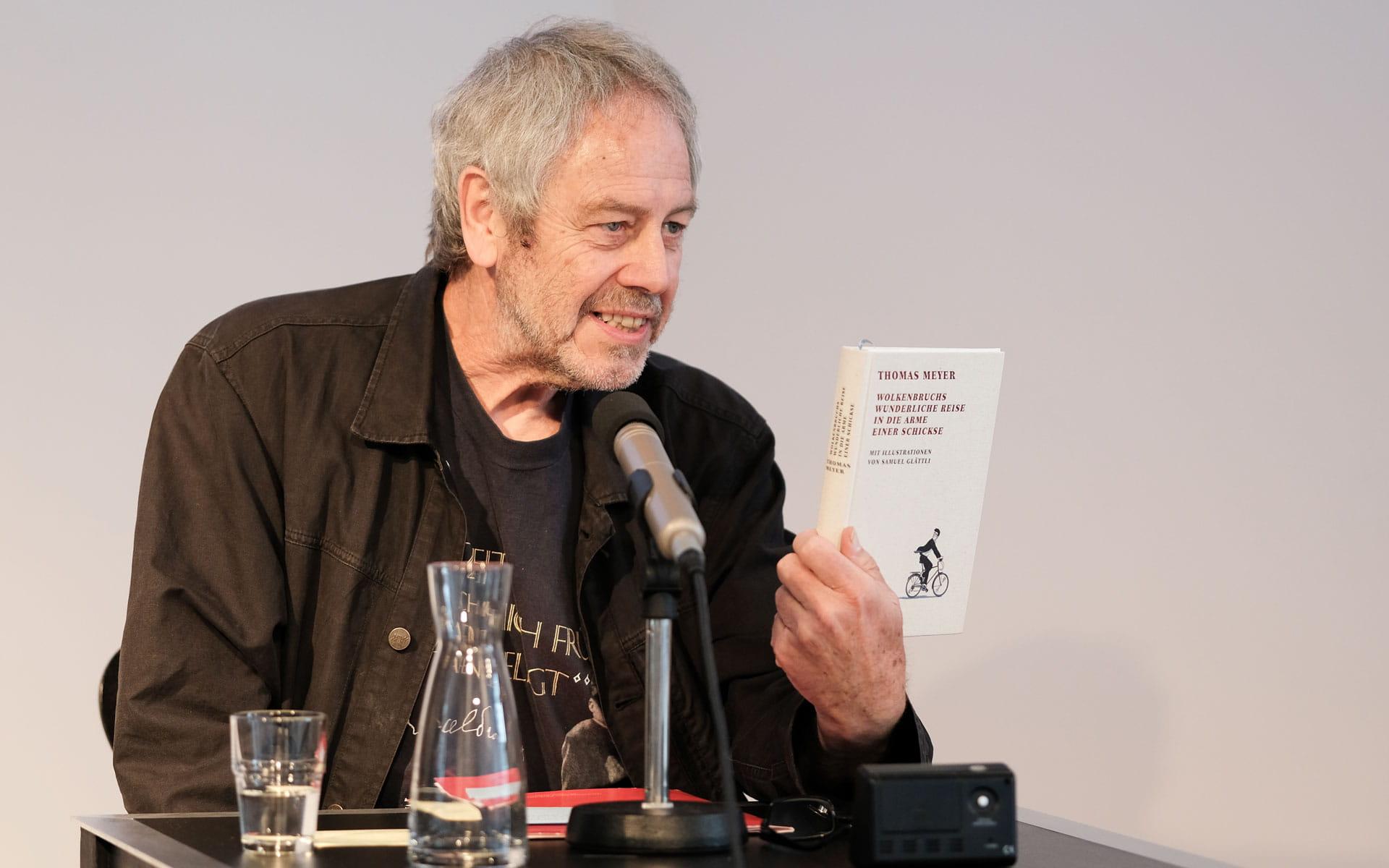 Thomas Meyer: Wolkenbruchs wunderliche Reise in die Arme einer Schickse <br/>(c) Sebastian Wenzel