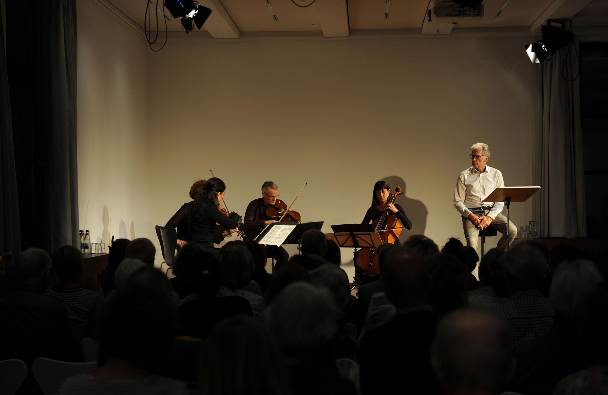 Walter Sittler, Hegel Quartet: Intime Briefe x 2 <br/>(c) Kristina Popov