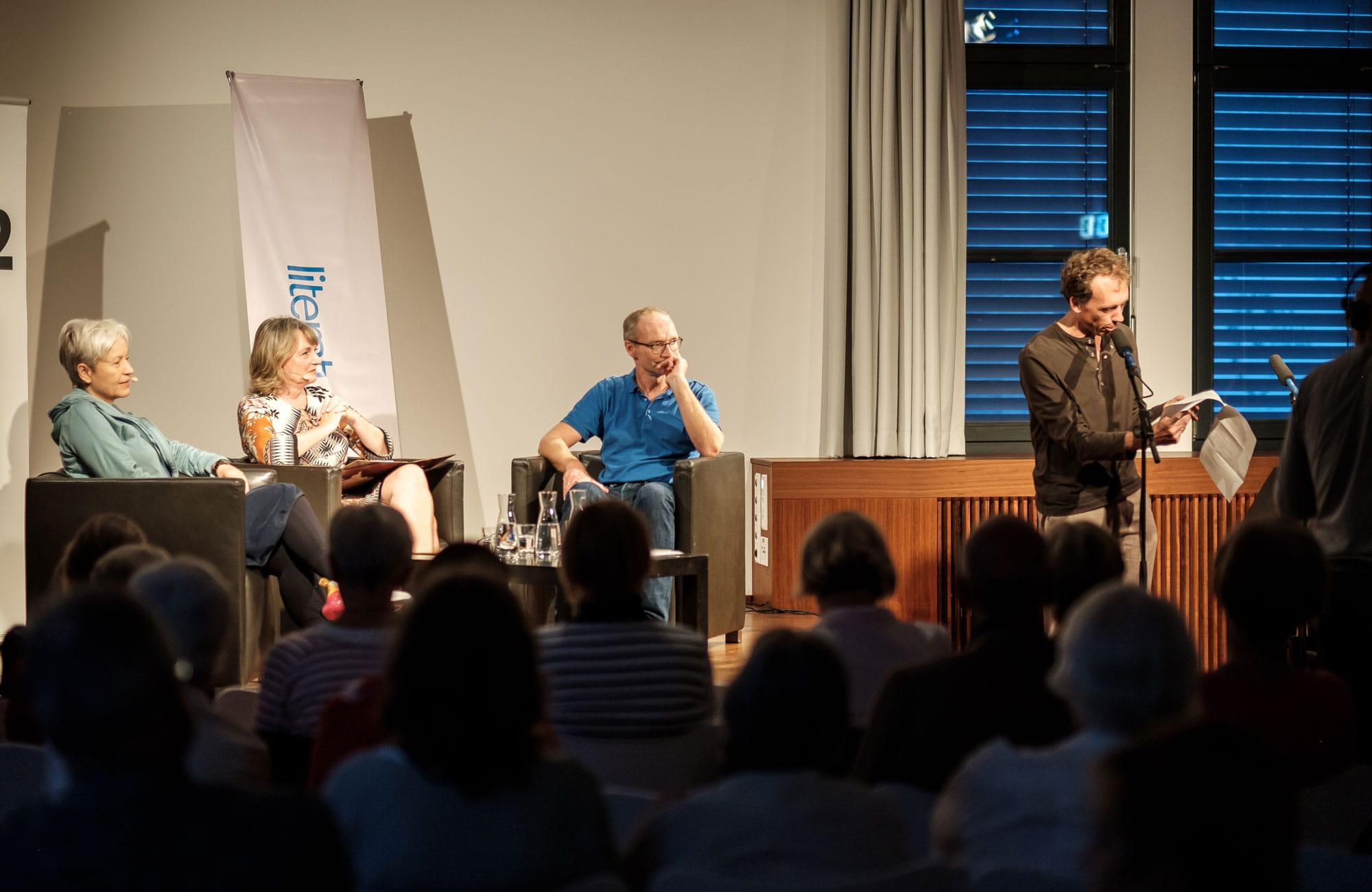 """Ulrike Draesner, John von Düffel: Theodor Storm """"Der Schimmelreiter"""", Montag, 16.09.19               /                   19.30              Uhr <br/>(c) Sebastian Wenzel"""