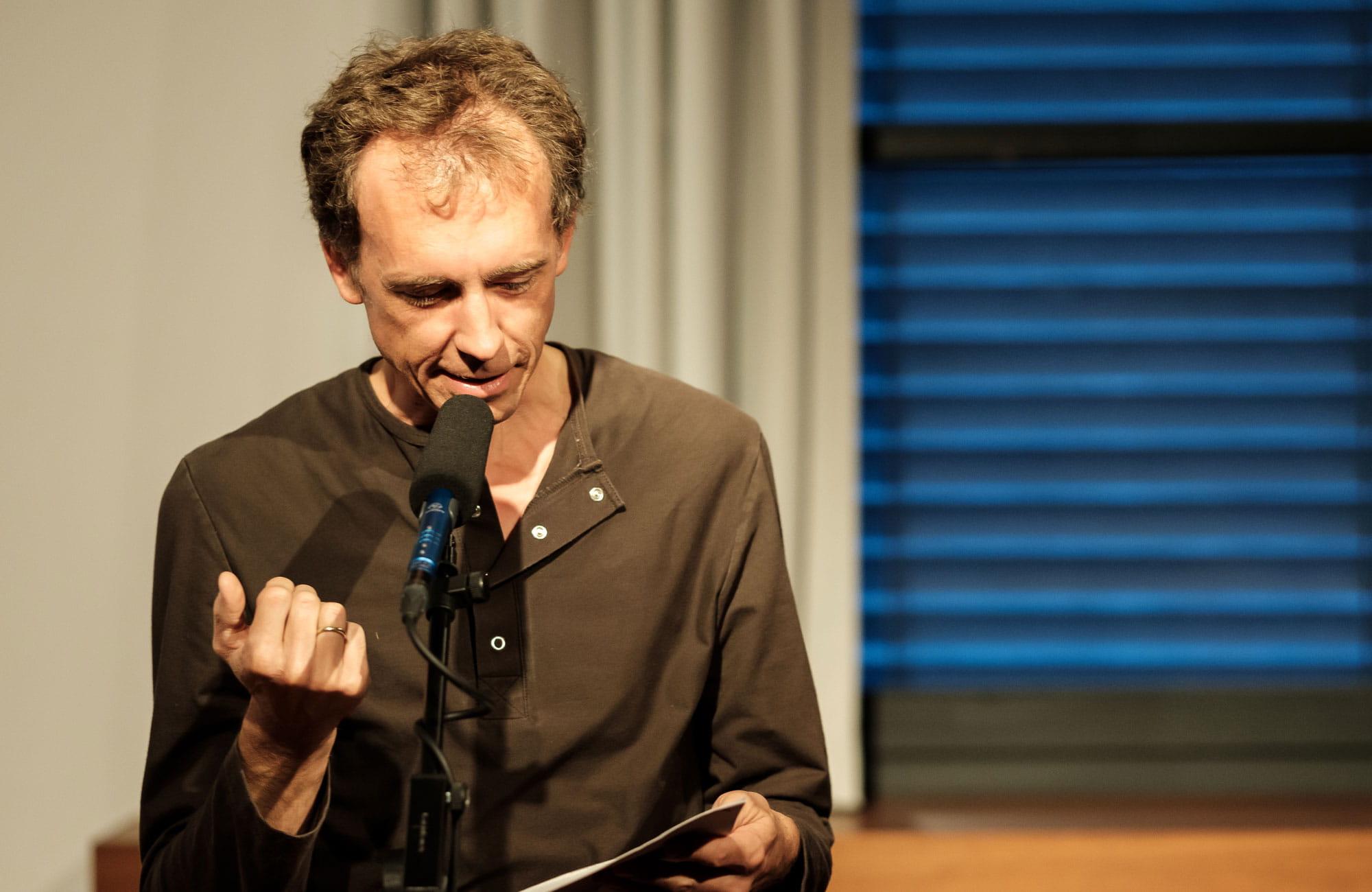 """Ulrike Draesner, John von Düffel: Theodor Storm """"Der Schimmelreiter"""" <br/>(c) Sebastian Wenzel"""