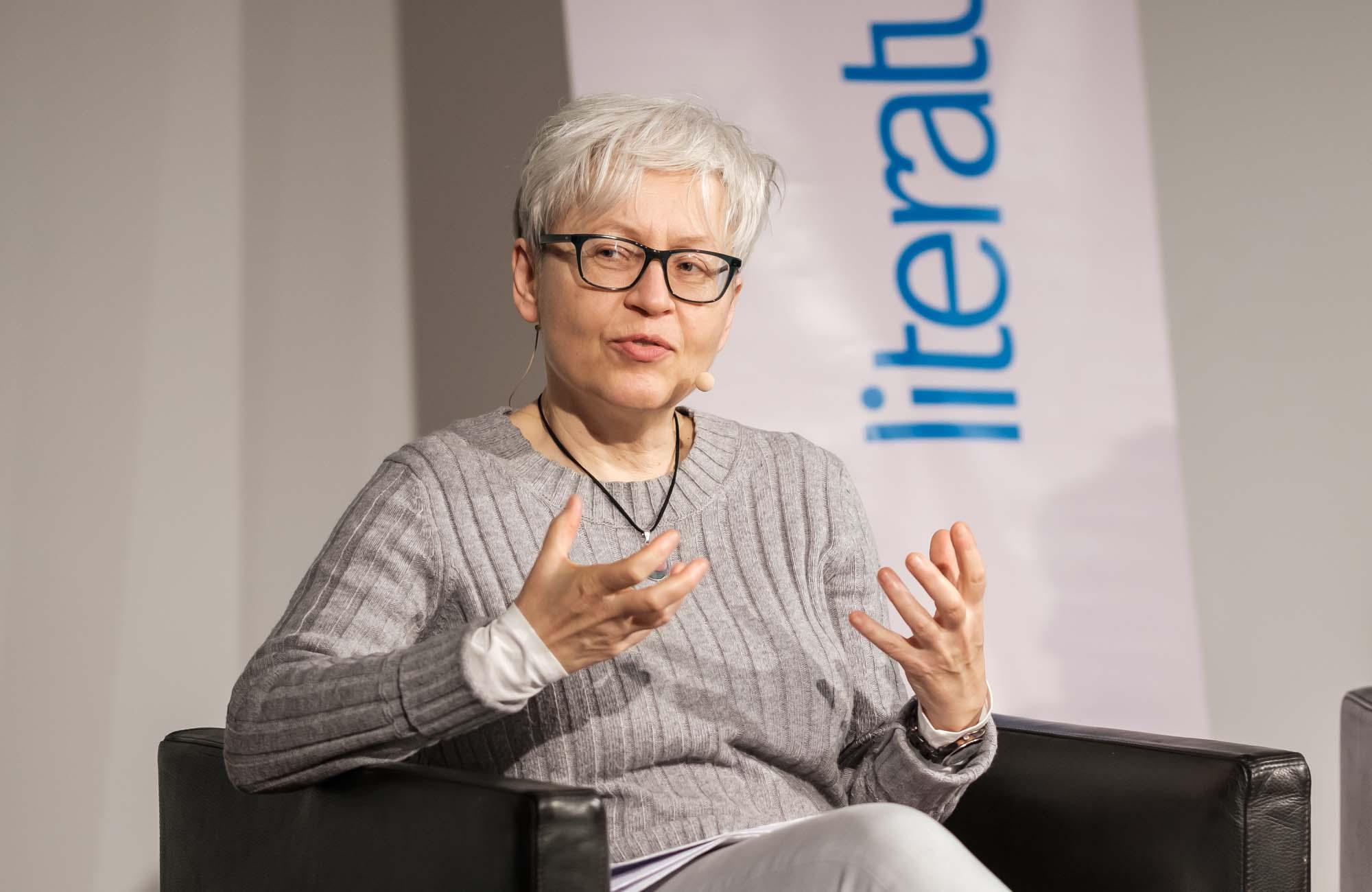 Ulrike Draesner, John von Düffel: Irmgard Keun: »Das kunstseidene Mädchen« <br/>(c) Sebastian Wenzel