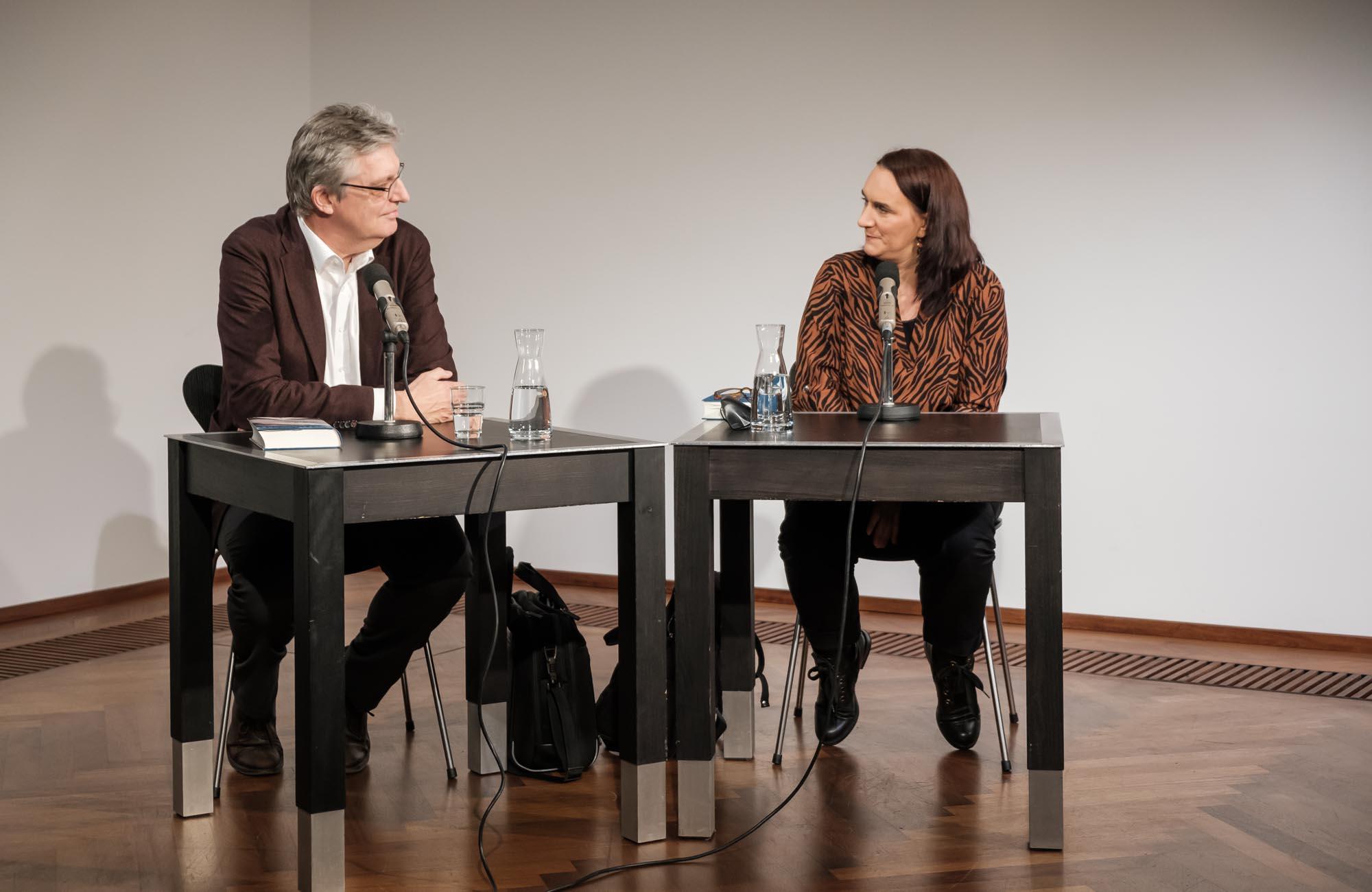 Terézia Mora: Auf dem Seil <br/>(c) Sebastian Wenzel