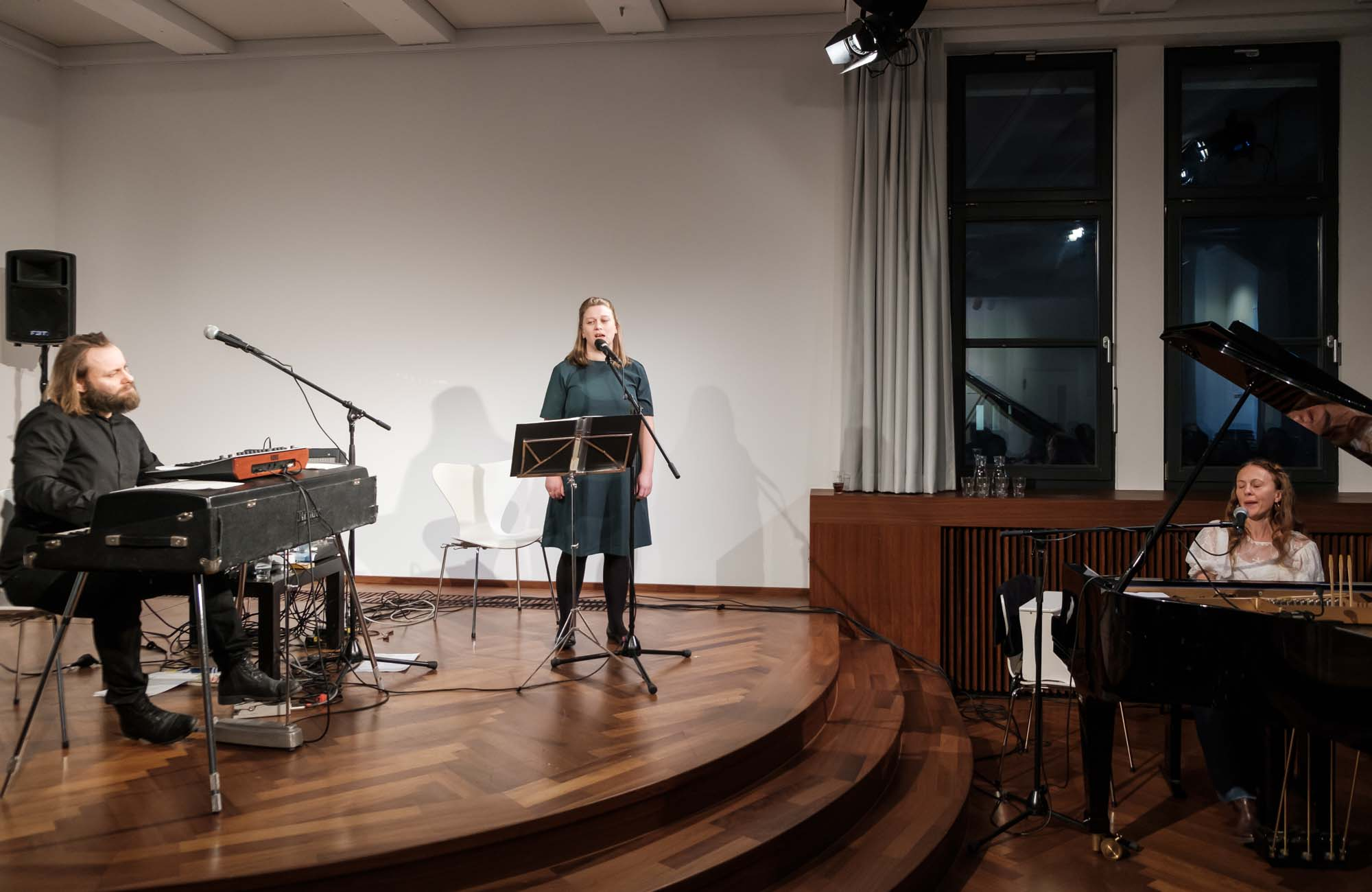 Russudan Meipariani, Aashild Vertus, Andreas Ulvo: Trio NorgeO: Klang & Poesie, nordöstlich <br/>(c) Sebastian Wenzel