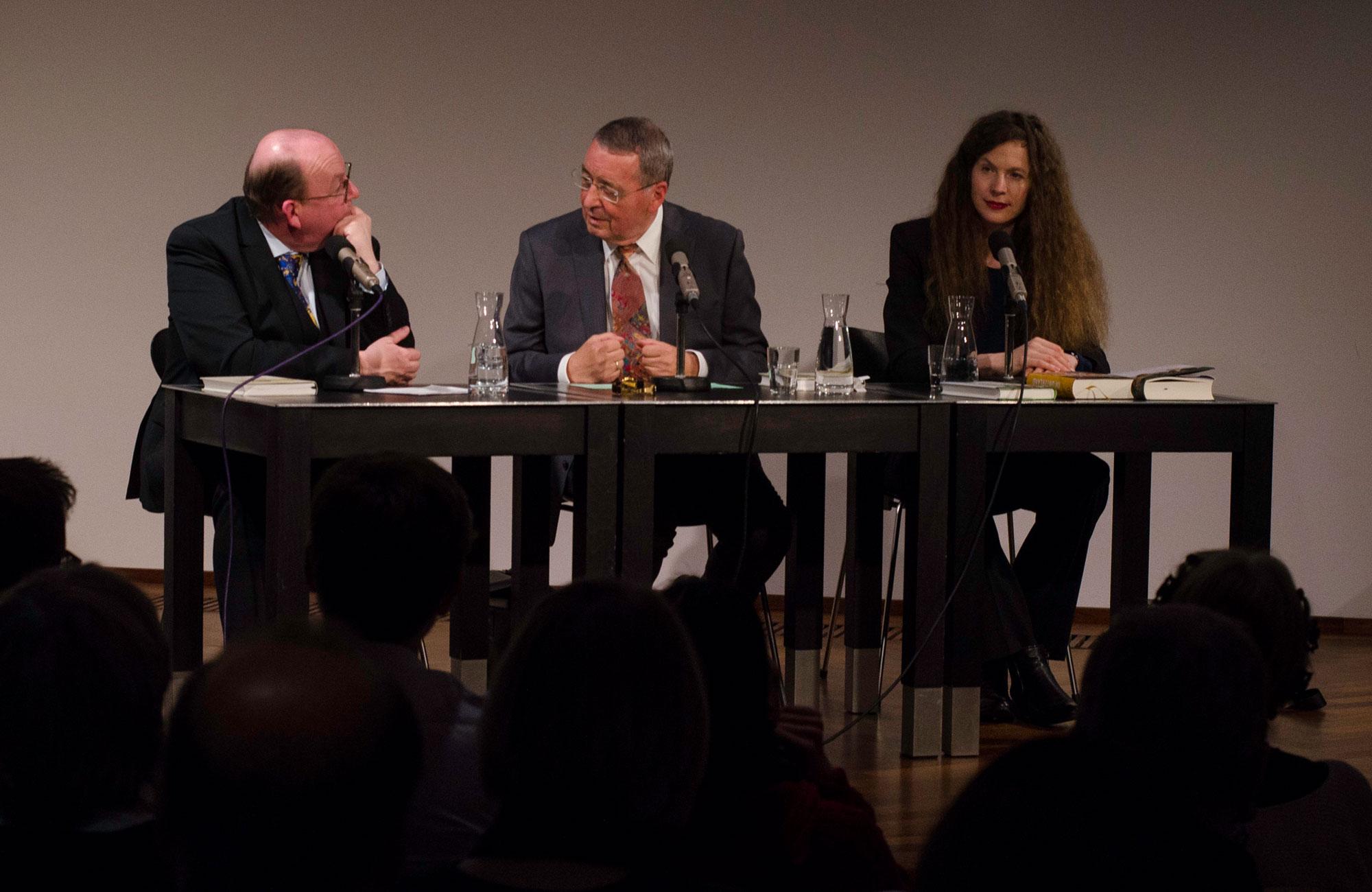 Karl-Heinz Göttert, Sandra Richter, Denis Scheck: Als die Natur noch sprach,                                                               Mittwoch, 18.12.19               /                   19.30              Uhr                               <br/>(c) Simon Adolphi