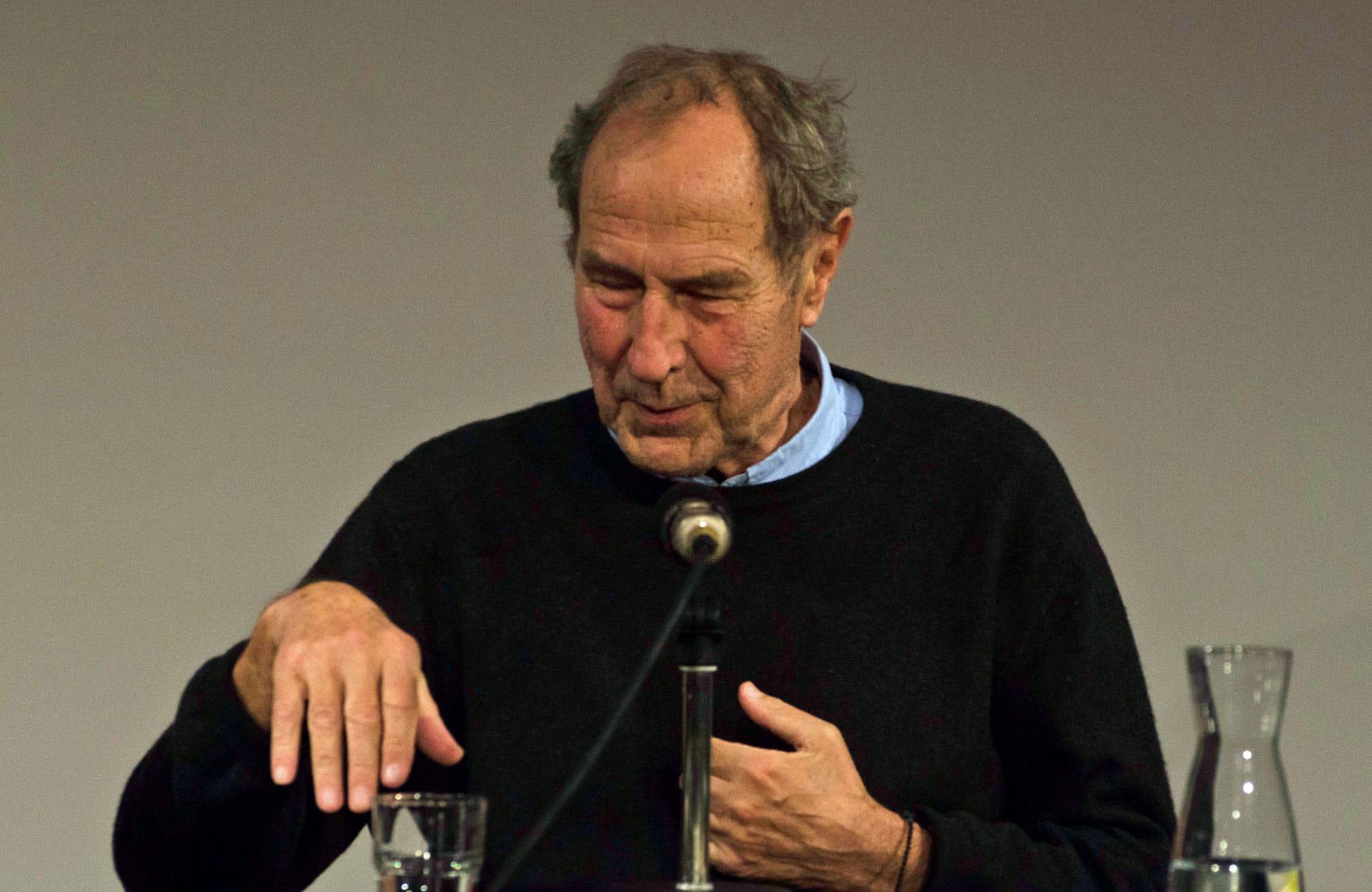 Michael Krüger, Matthias Bormuth: Gäule der Erinnerung <br/>(c) Simon Adolphi