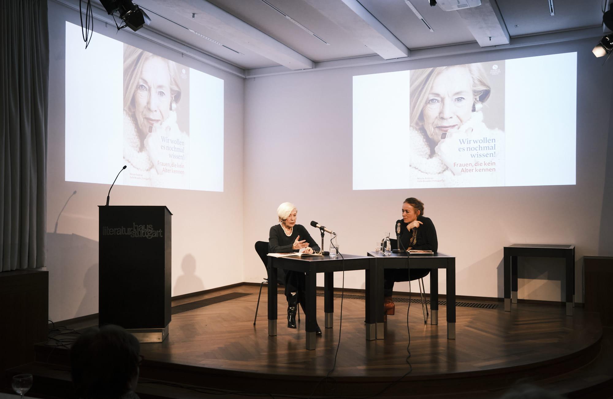 Bettina Wegner, Wera Bunge, Nicole Andries: Wir wollen es nochmal wissen <br/>(c) Sebastian Wenzel
