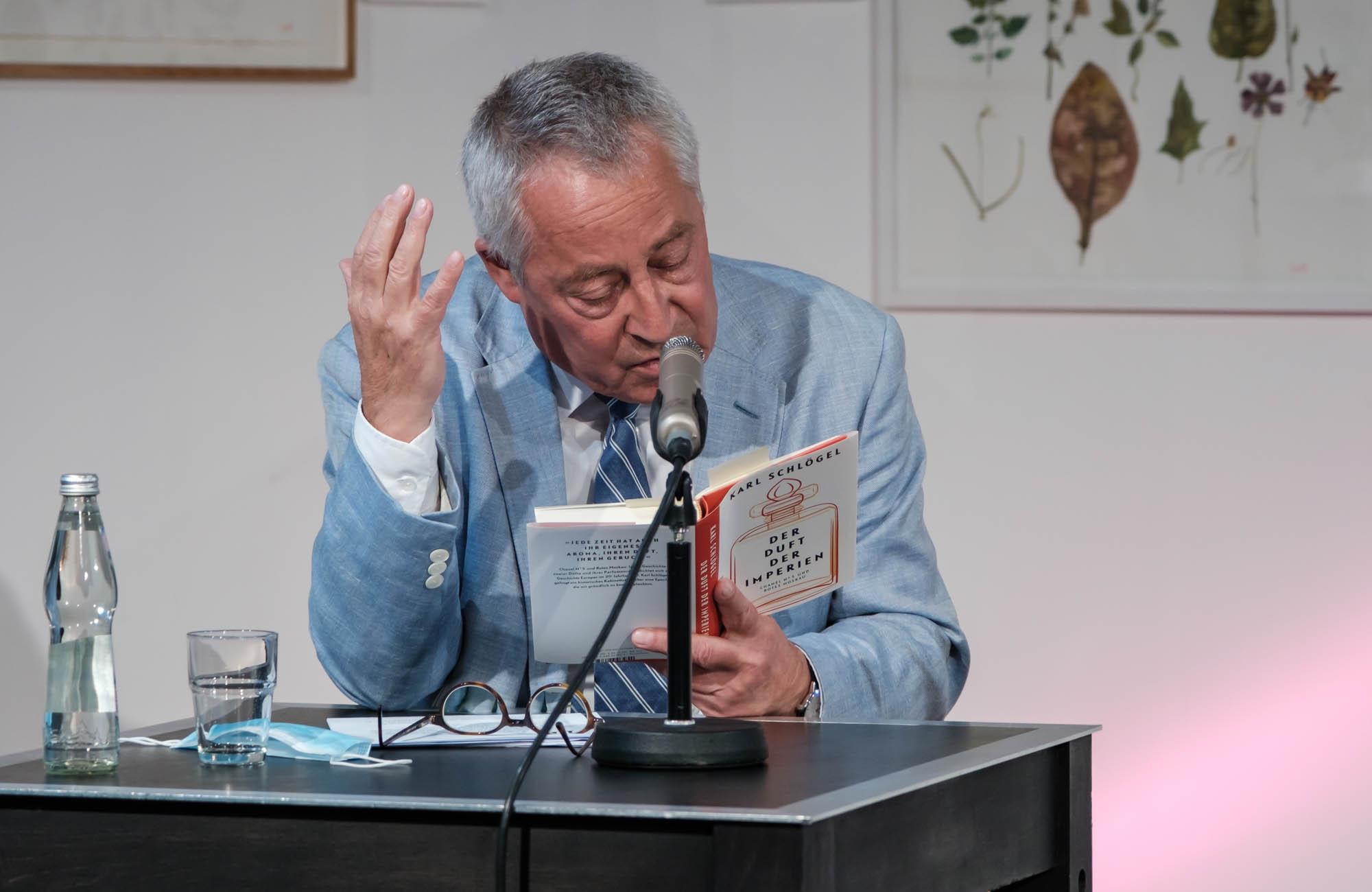 Karl Schlögel: Der Duft der Imperien <br/>(c) Sebastian Wenzel