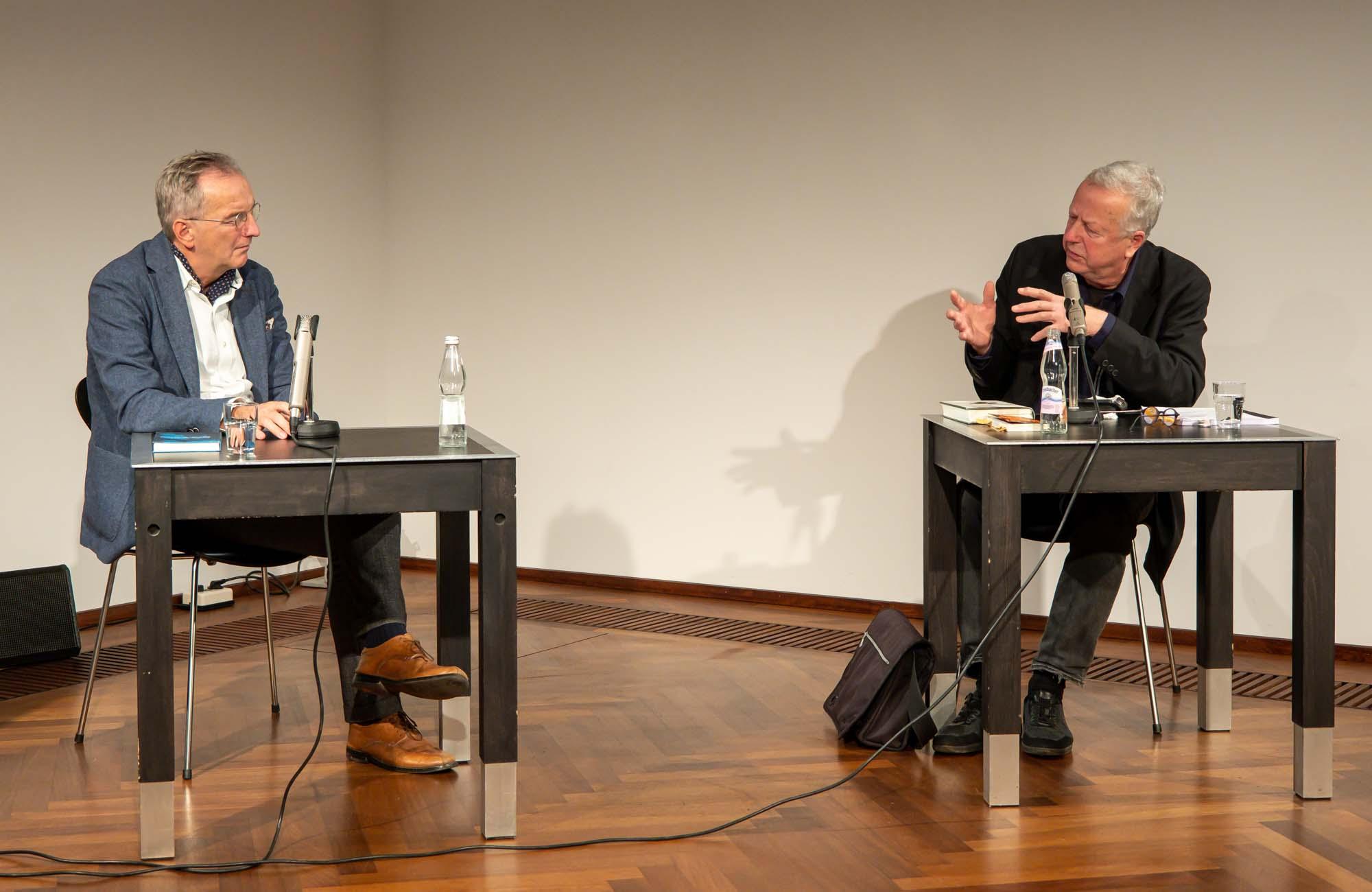 Manfred Geier, Matthias Bormuth: Max Weber und die Liebe <br/>(c) Sebastian Wenzel