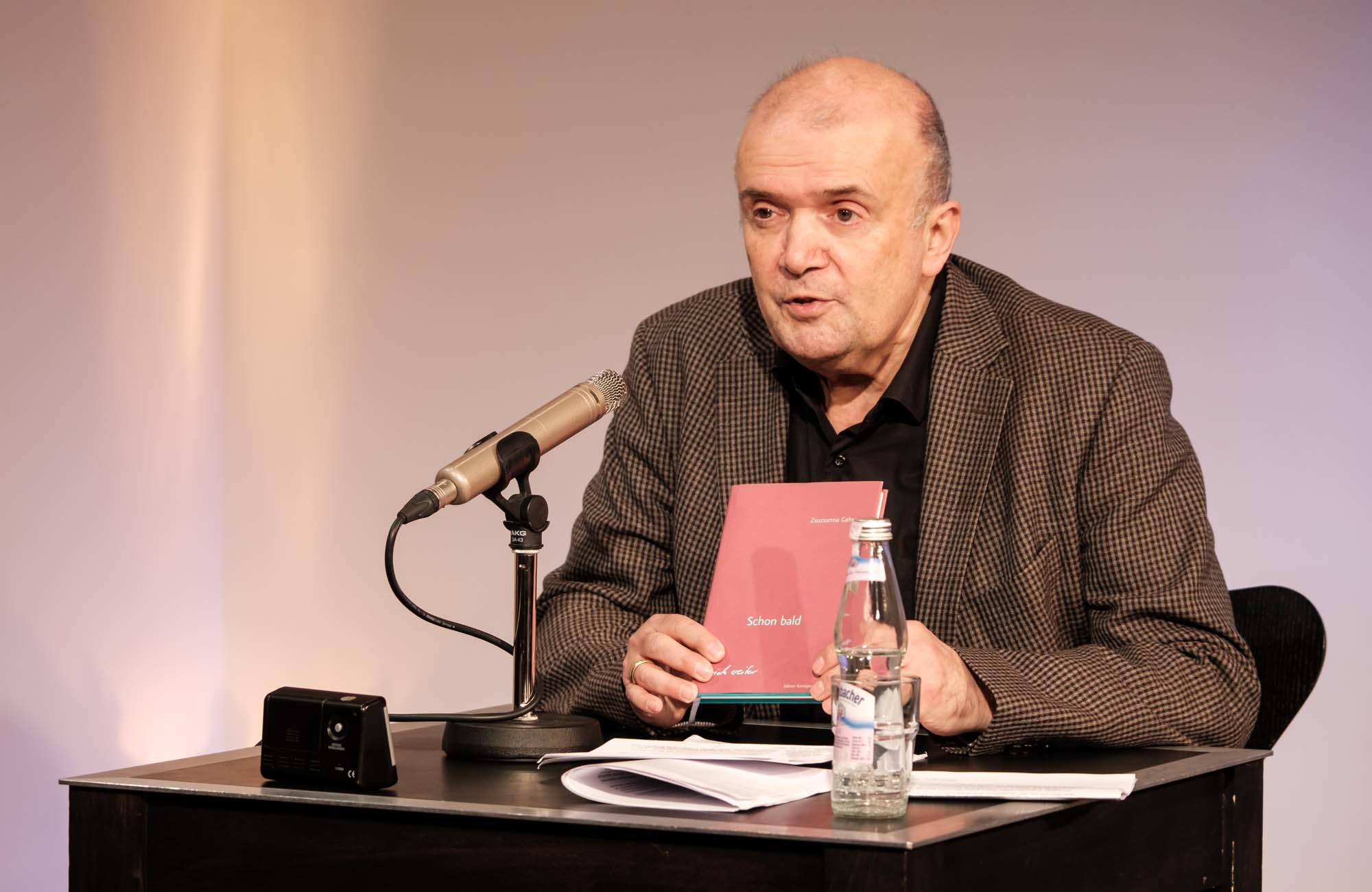 Zsuzsanna Gahse: Schon bald <br/>(c) Sebastian Wenzel