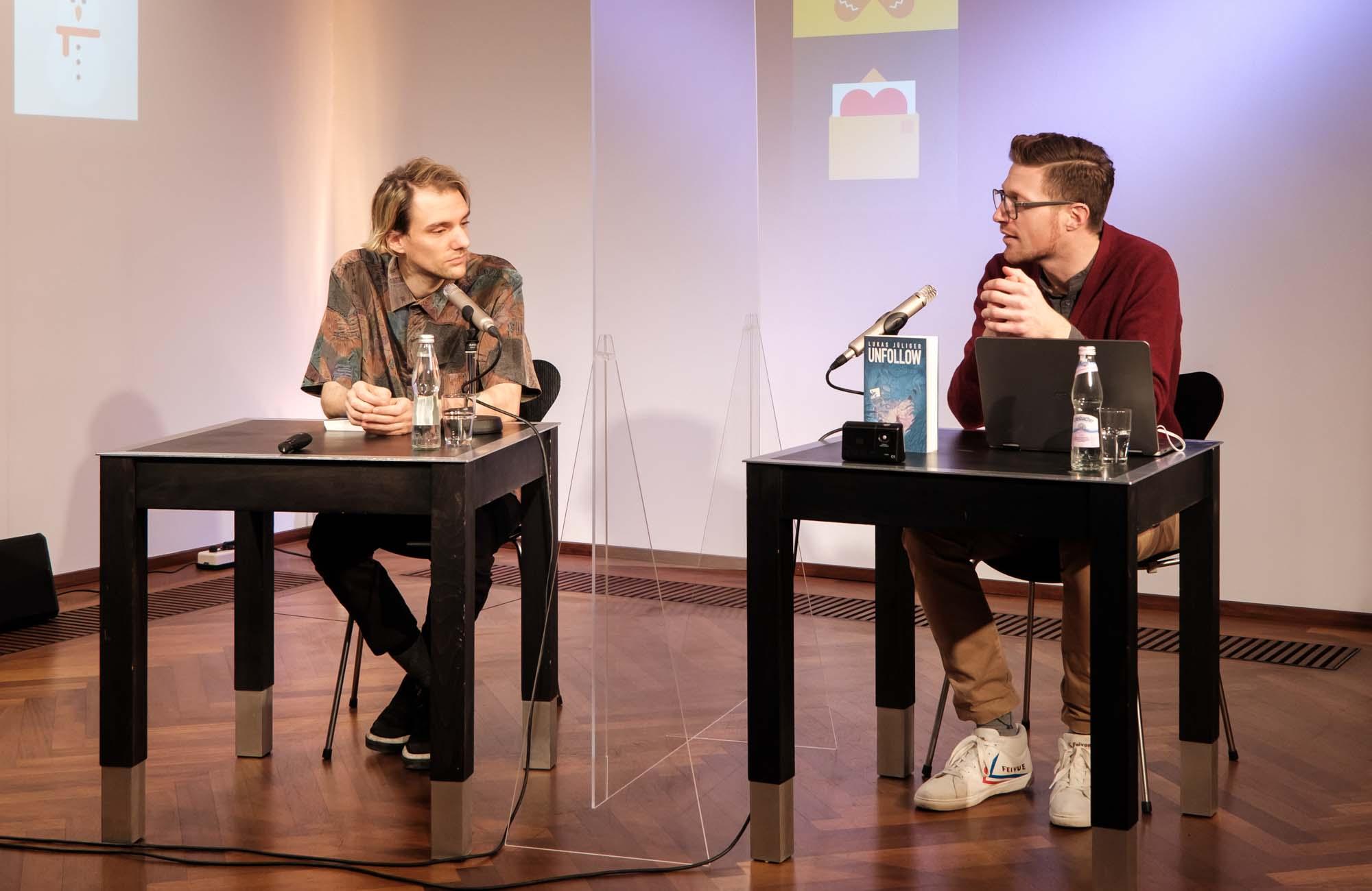 Lukas Jüliger: Unfollow <br/>(c) Sebastian Wenzel