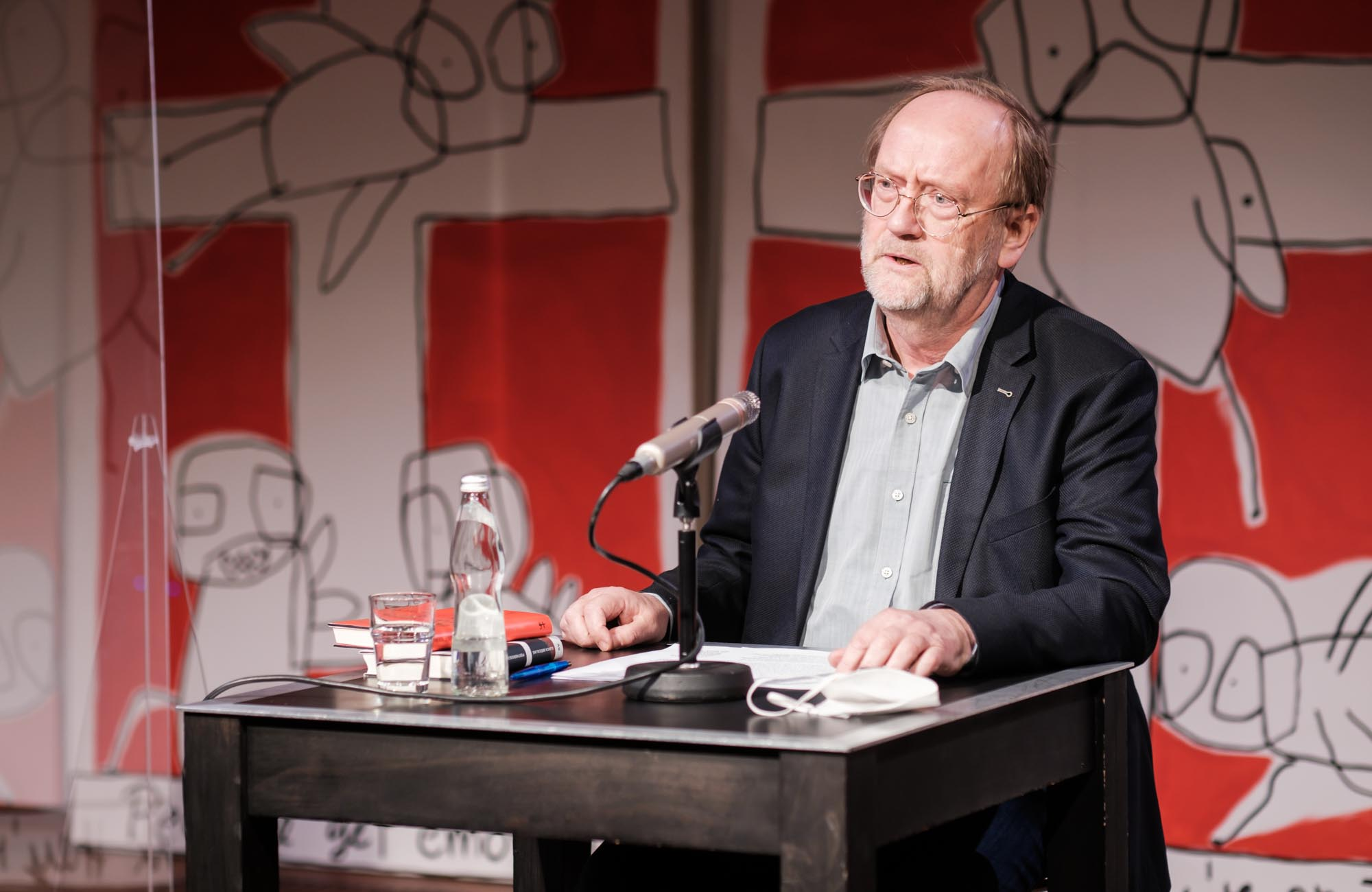 Anne Weber, Ulrich Bröckling: Heldinnen <br/>(c) Sebastian Wenzel