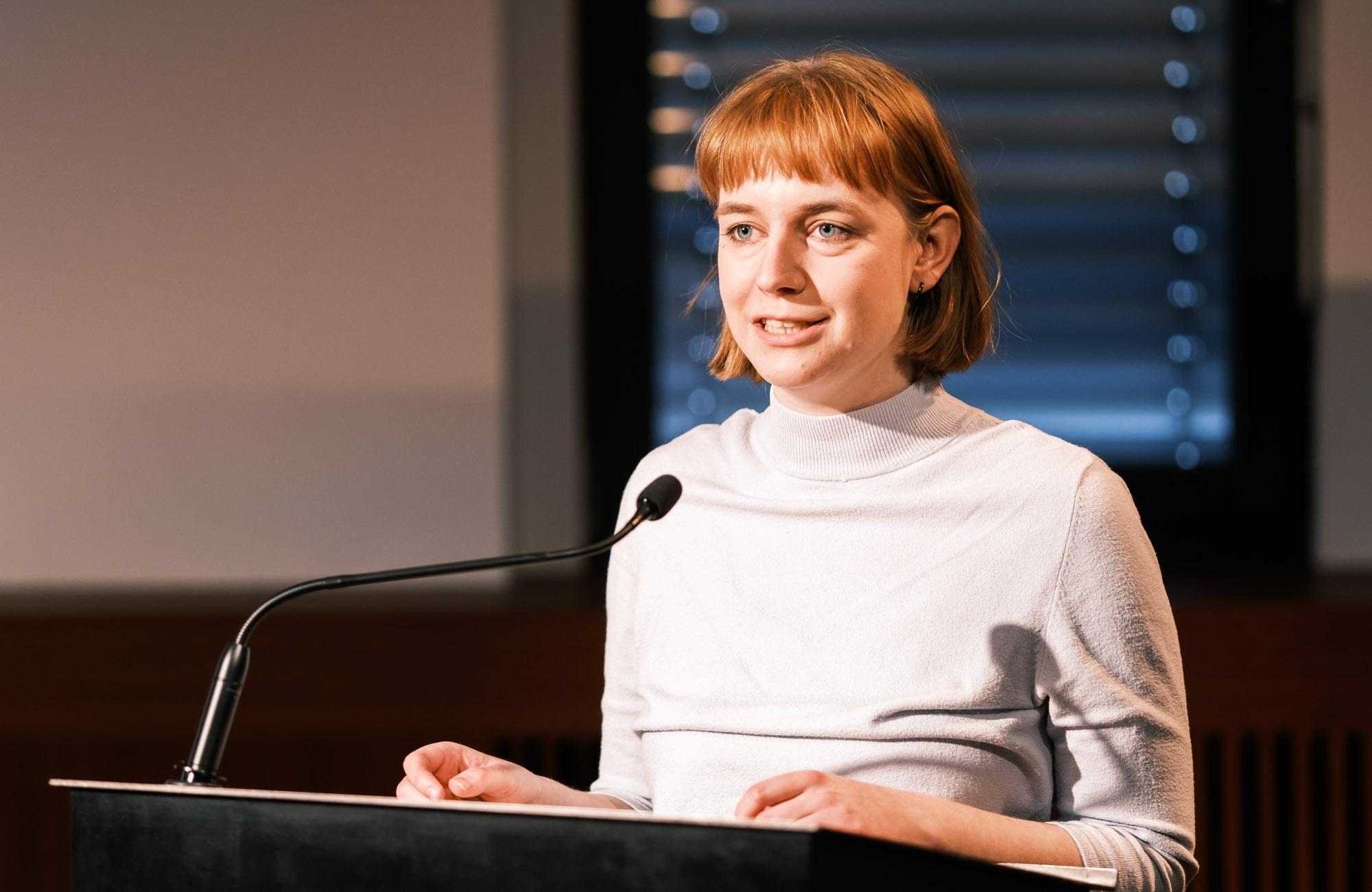 Anna Bers, Ulrike Draesner: Frauen | Lyrik <br/>(c) Sebastian Wenzel