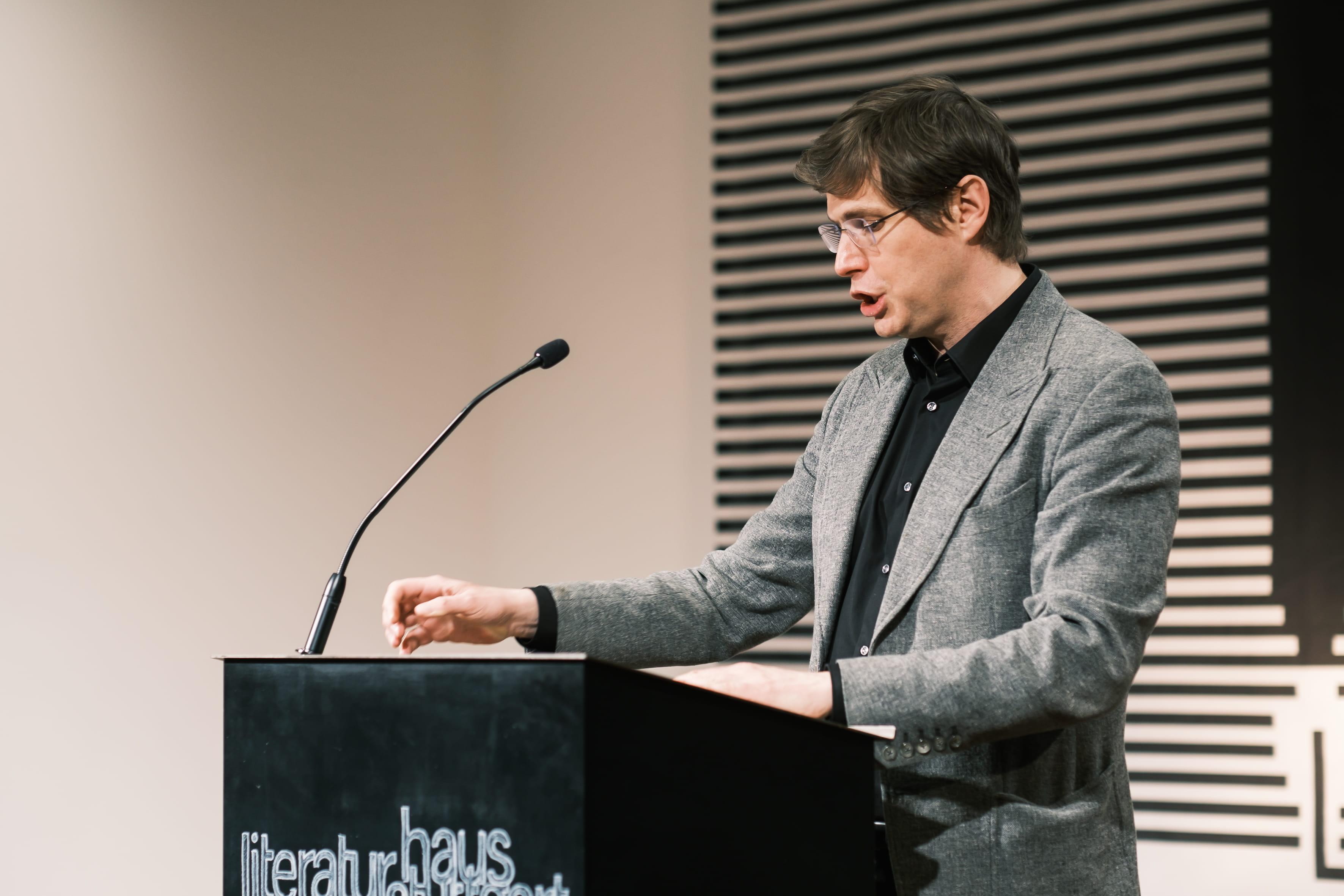 Daniel Kehlmann: Mein Algorithmus und Ich <br/>(c) Sebastian Wenzel