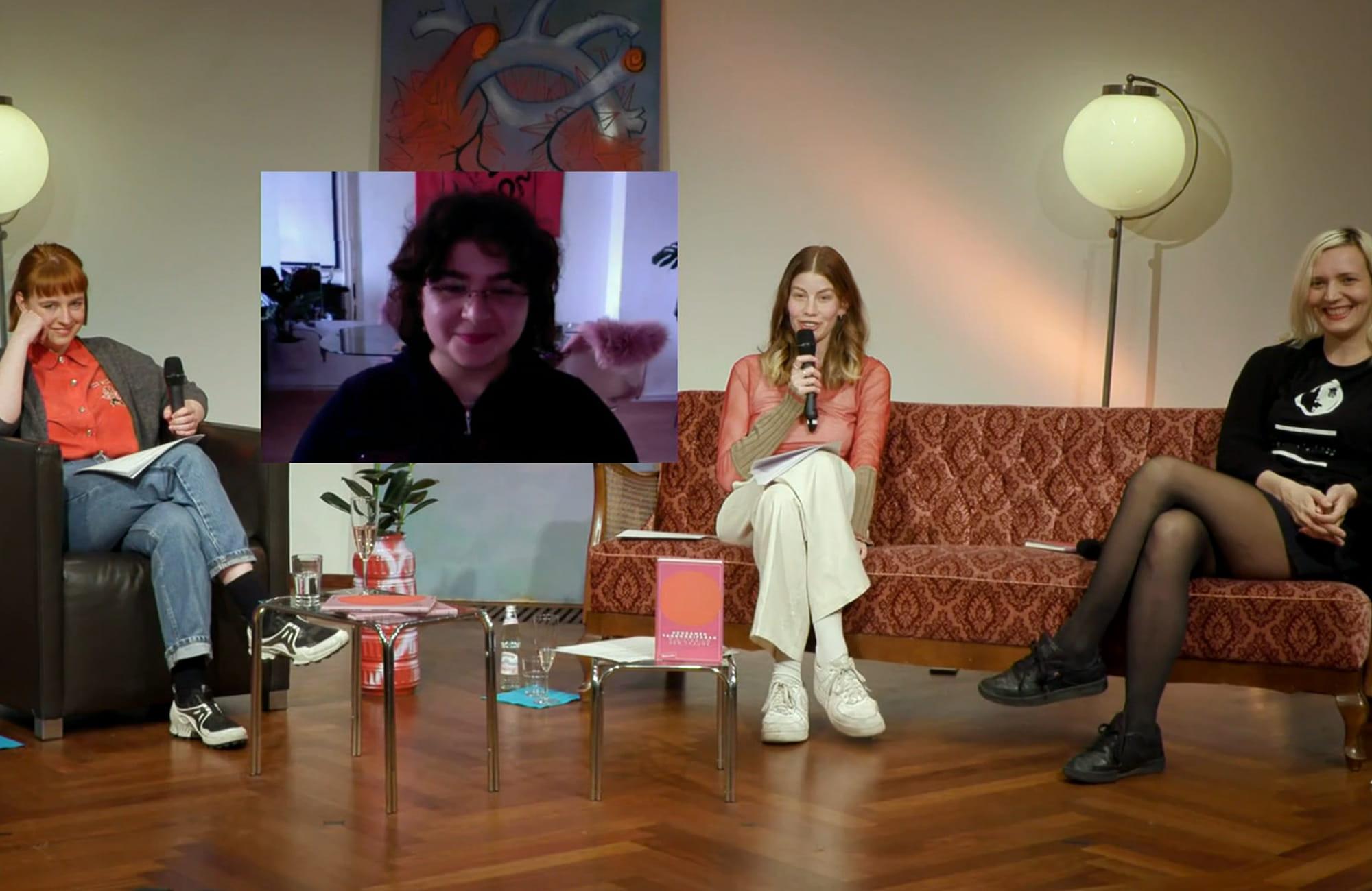 Hengameh Yaghoobifarah, Juliane Liebert: Das Ministerium der Träume <br/>(c) Literaturhaus Stuttgart