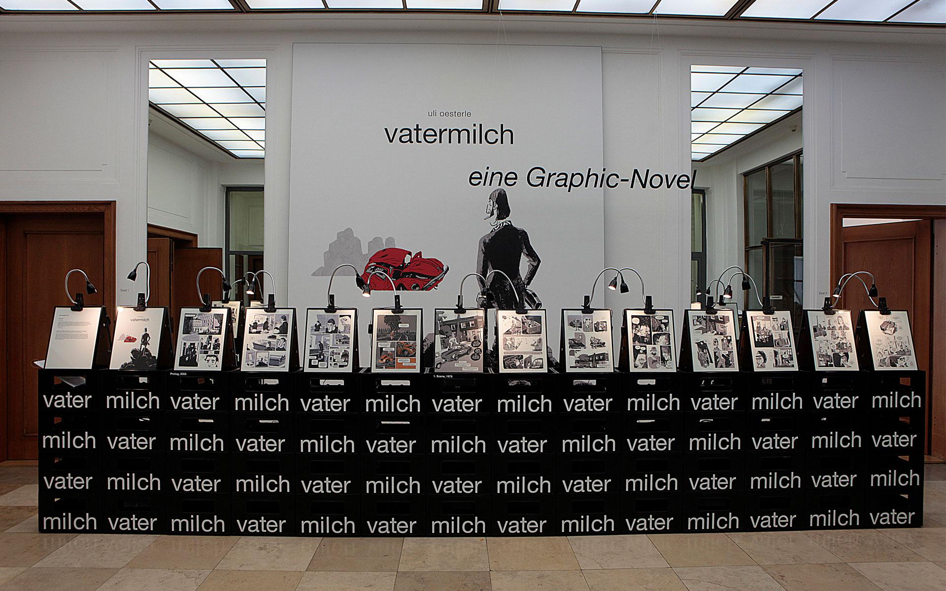 Uli Oesterle: Vatermilch,                                                                                                                                              Dienstag, 26.04.16                      -                          Donnerstag, 19.05.16                                                                               <br/>(c) Berthold-Leibinger-Stiftung