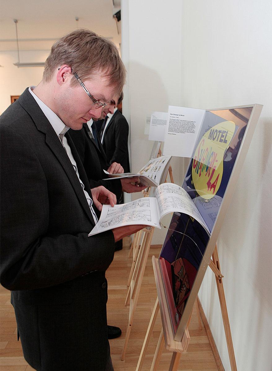 """Uli Oesterle: Comicbuchpreis 2016 für """"Vatermilch"""" <br/>(c) Berthold-Leibinger-Stiftung"""