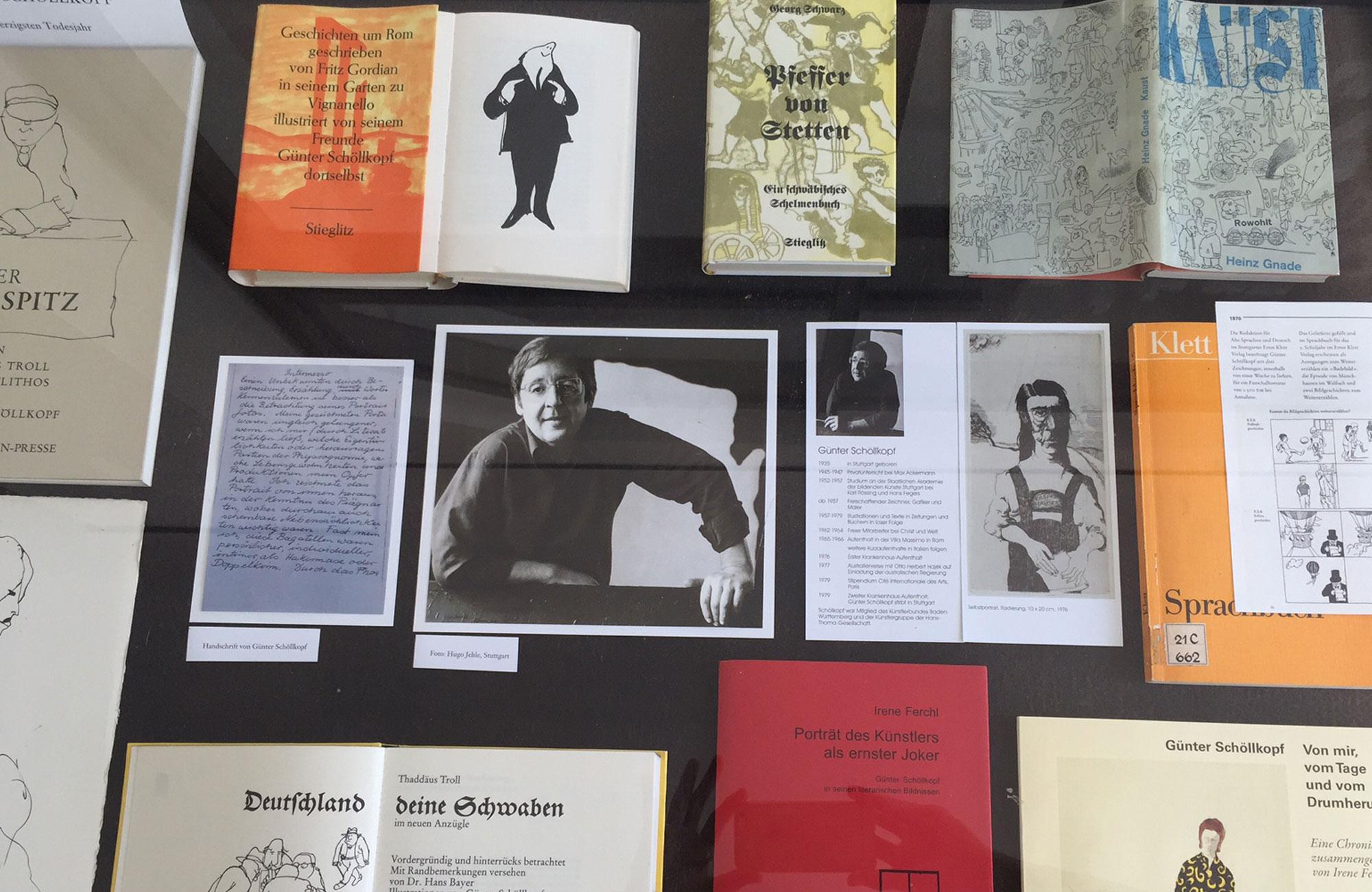 Günter Schöllkopf: Nr. 19: Literatur Schaufenster. Bücher & Autoren, die wir nicht vergessen wollen, Montag, 24.06.19                      -                          Freitag, 27.09.19