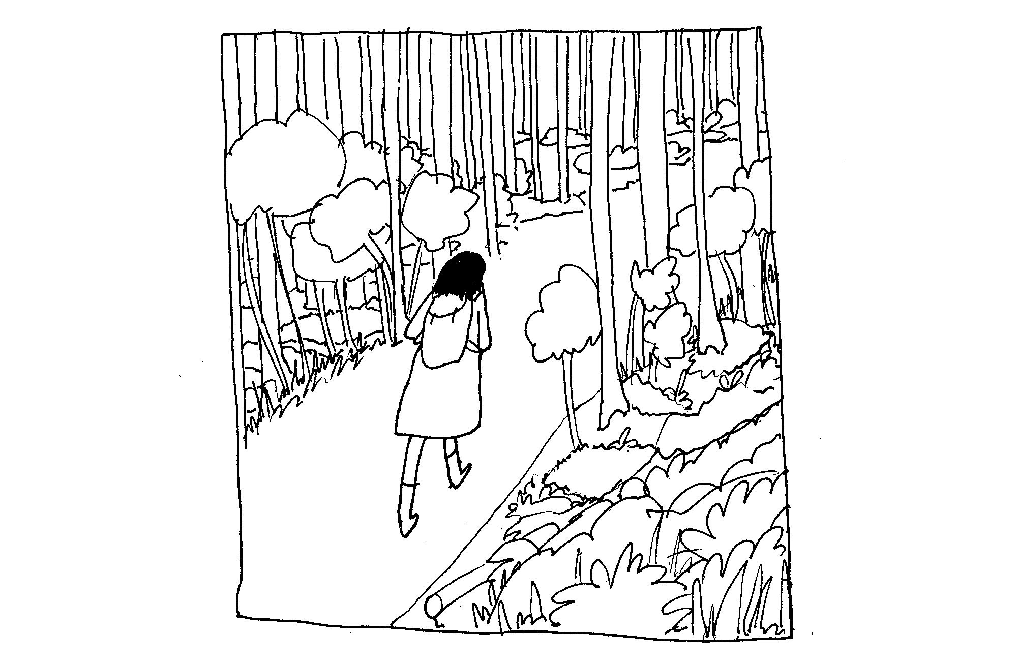 Kathrin Klingner: Im Wald