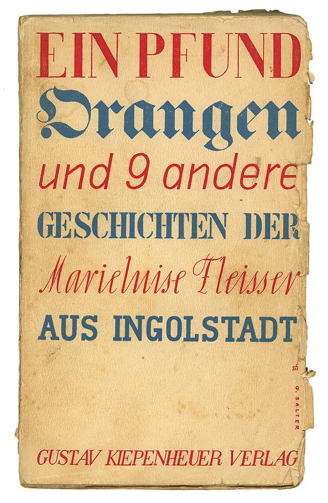 Marieluise Fleisser (aus Ingoldstadt)