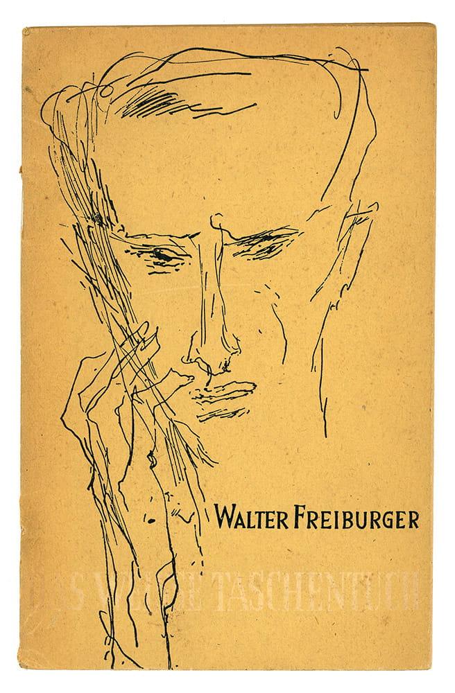 Walter Freiburger (Pseudonym von Walter Jens)
