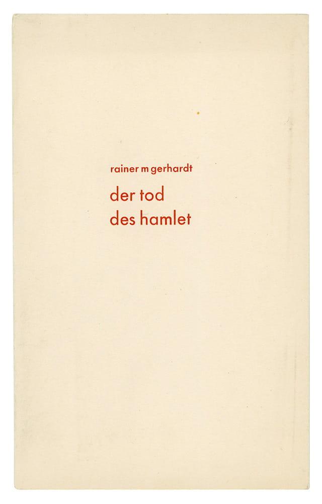 Rainer M.(aria) Gerhardt
