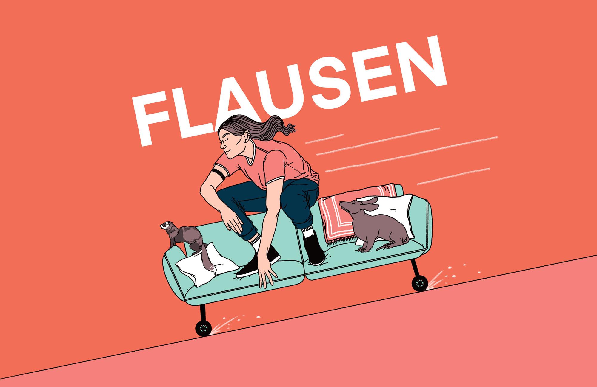 "Literaturpodcast ""Flausen"" - Folge 6"