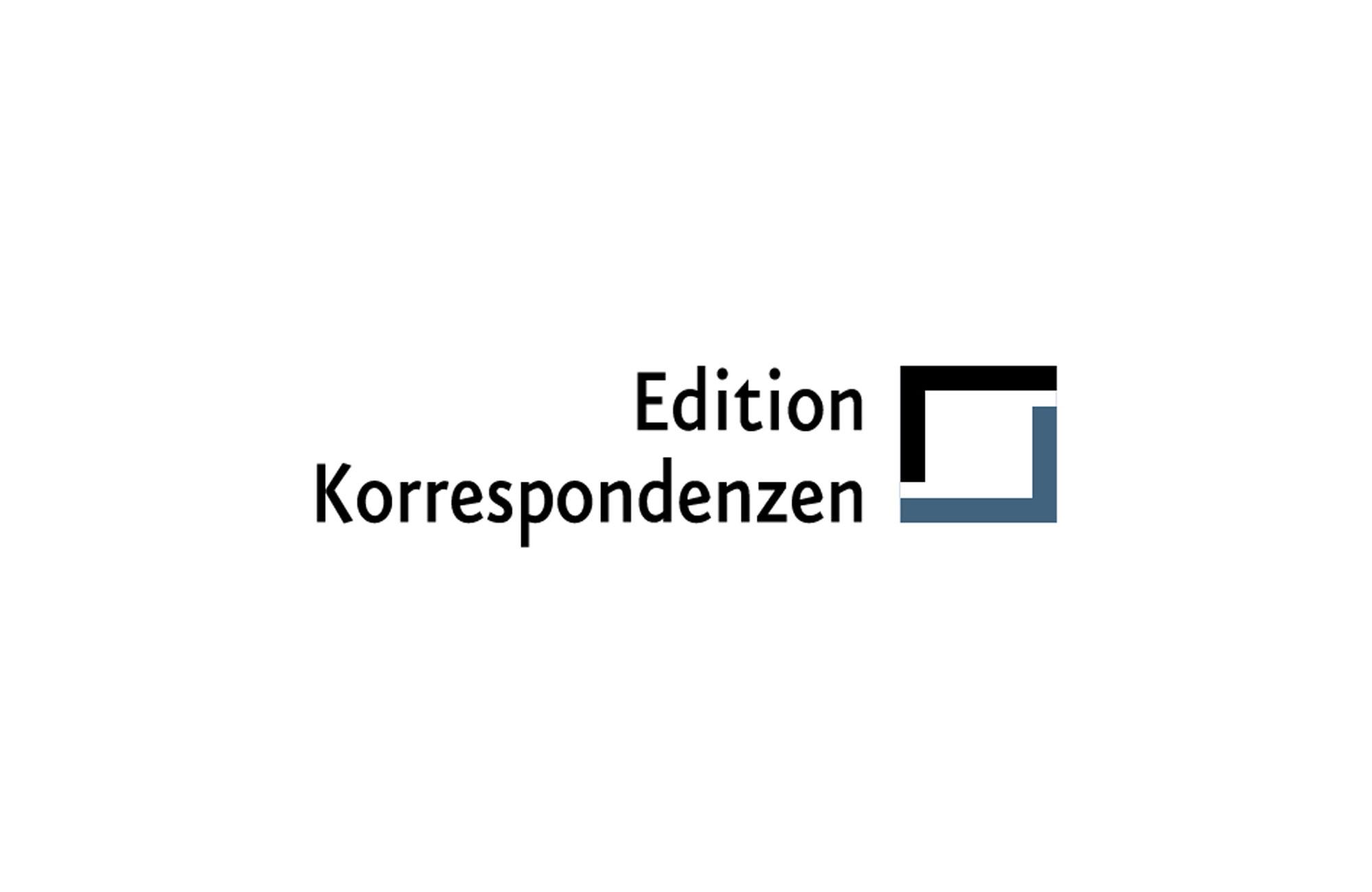 Logo Edition Korrespondenzen (Wien)