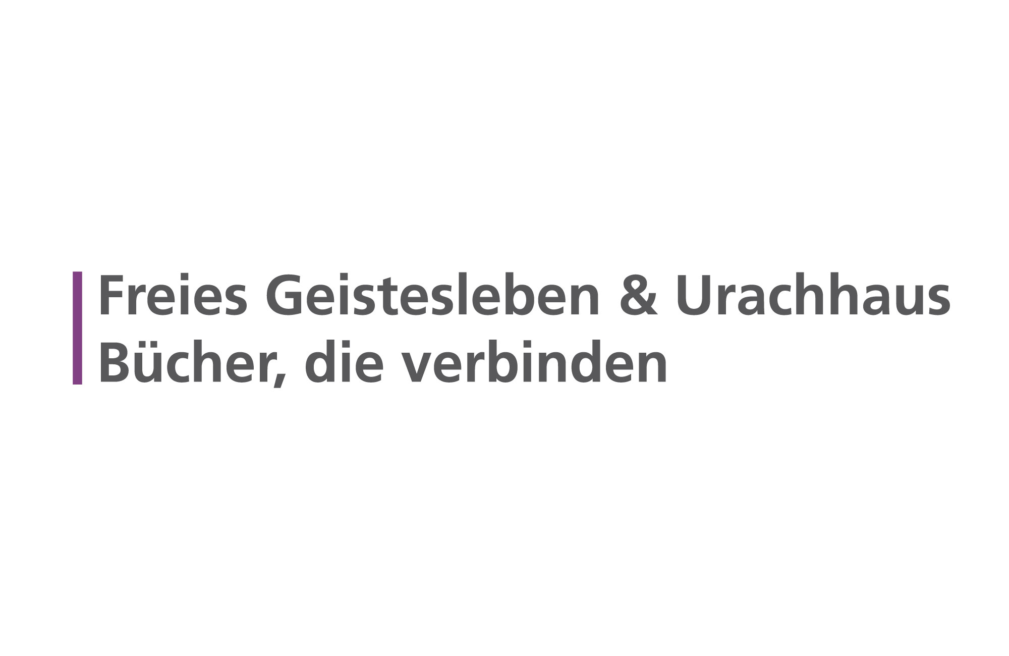 Logo Verlag Freies Geistesleben und Urachhaus (Stuttgart)