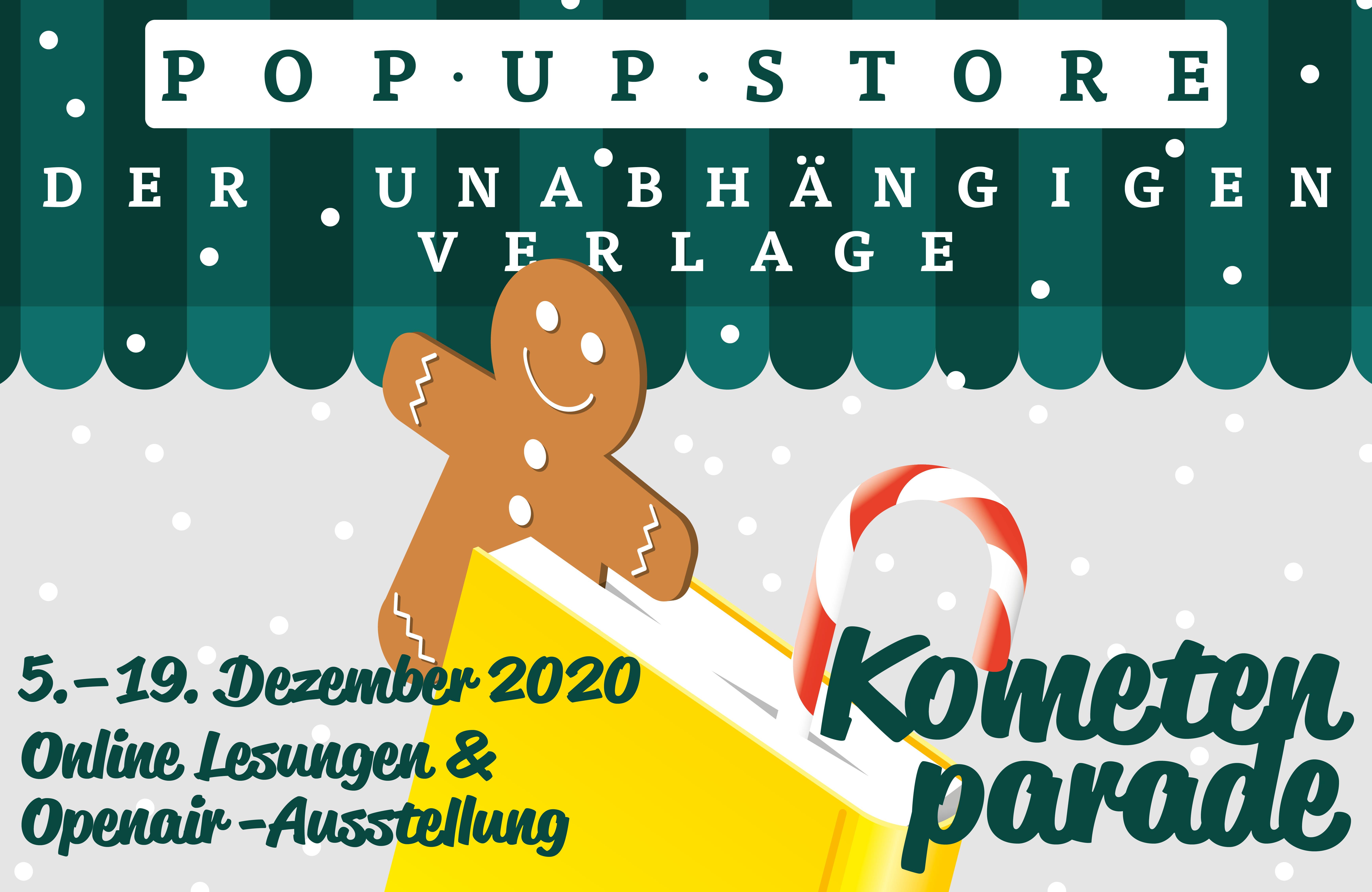 Kometenparade - Wintermarkt der unabhängigen Verlage