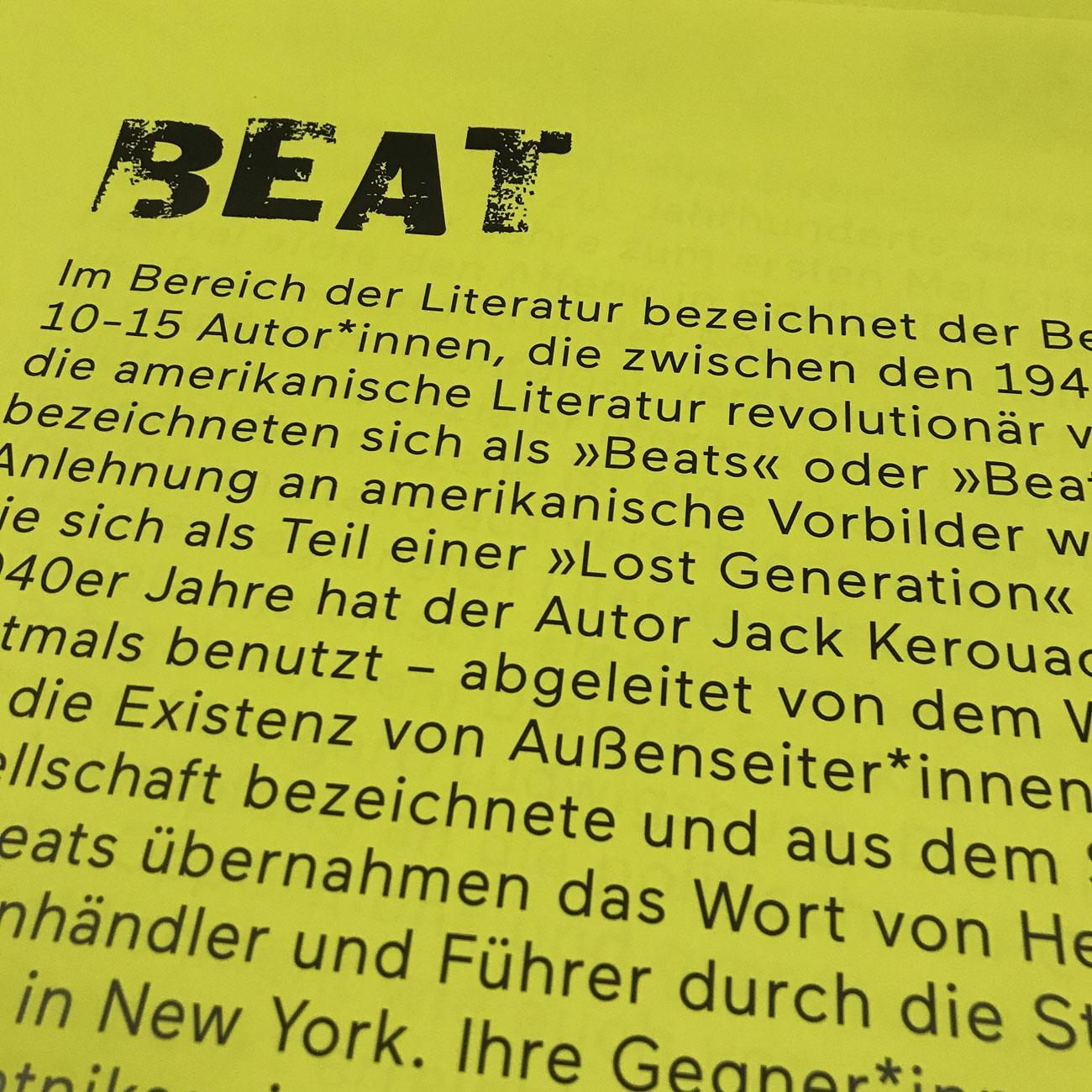 Social Beat & Beat: ein literarischer Urknall 40