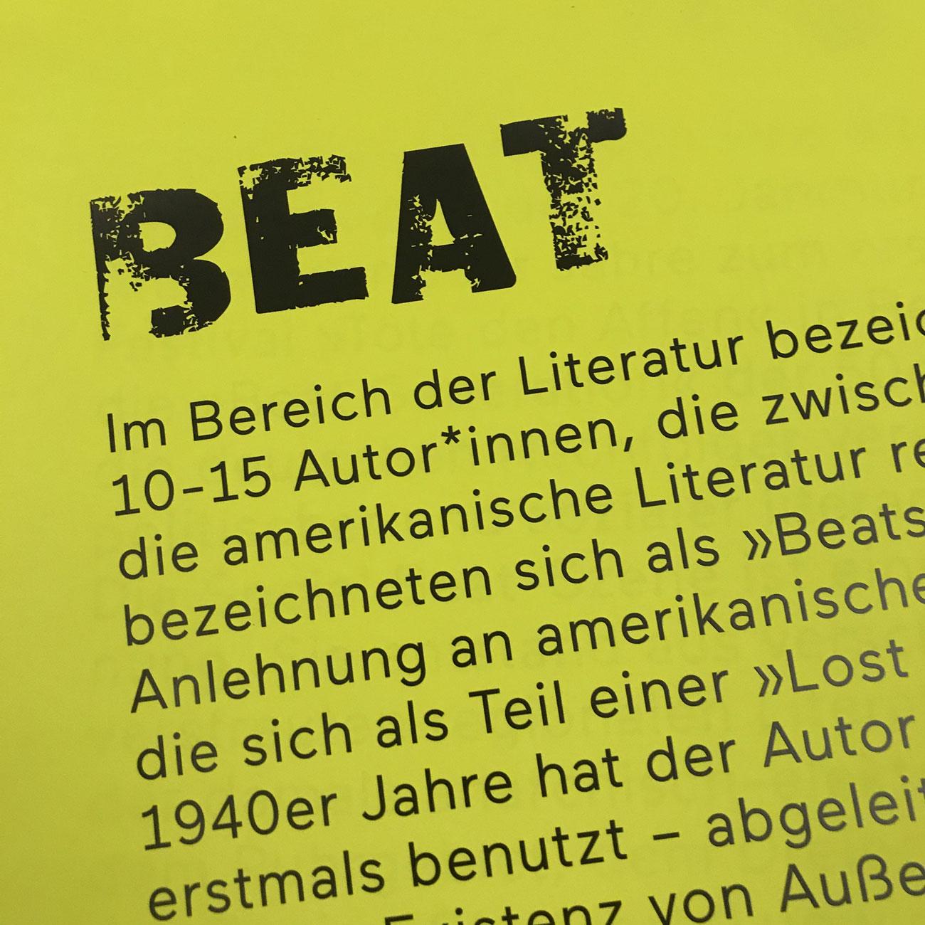 Social Beat & Beat: ein literarischer Urknall 41