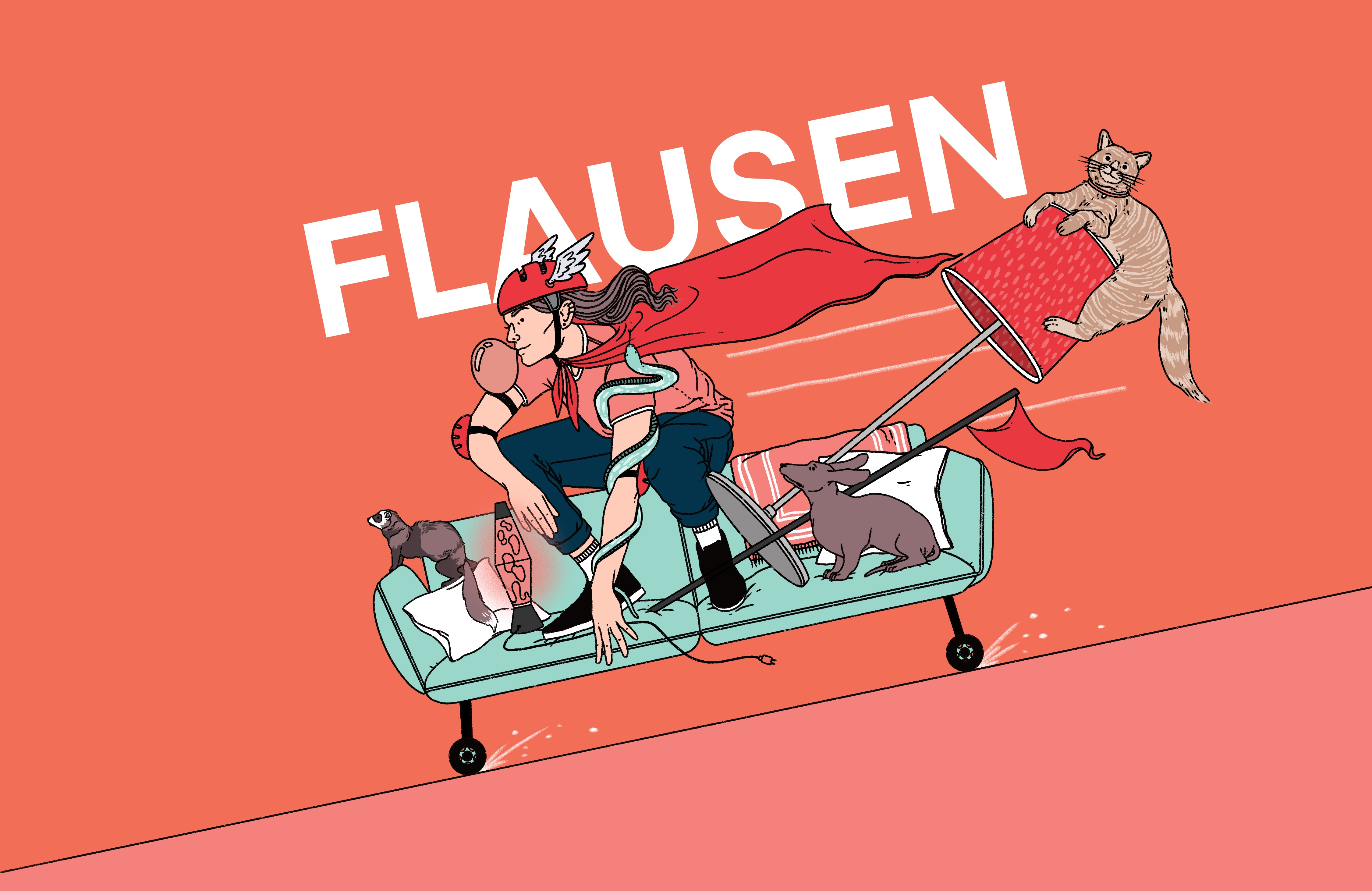 "Literaturpodcast ""Flausen"" - Folge 17"