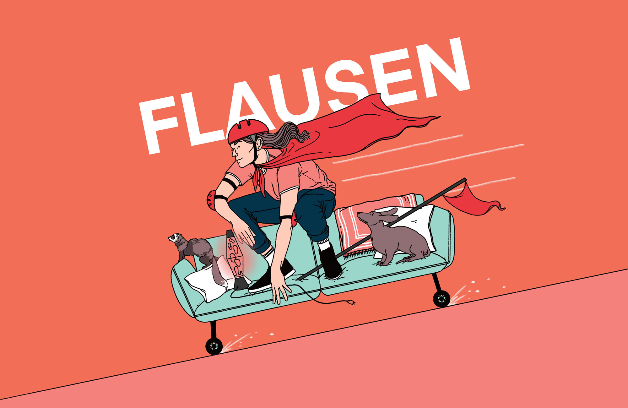 "Literaturpodcast ""Flausen"" - Folge 12"
