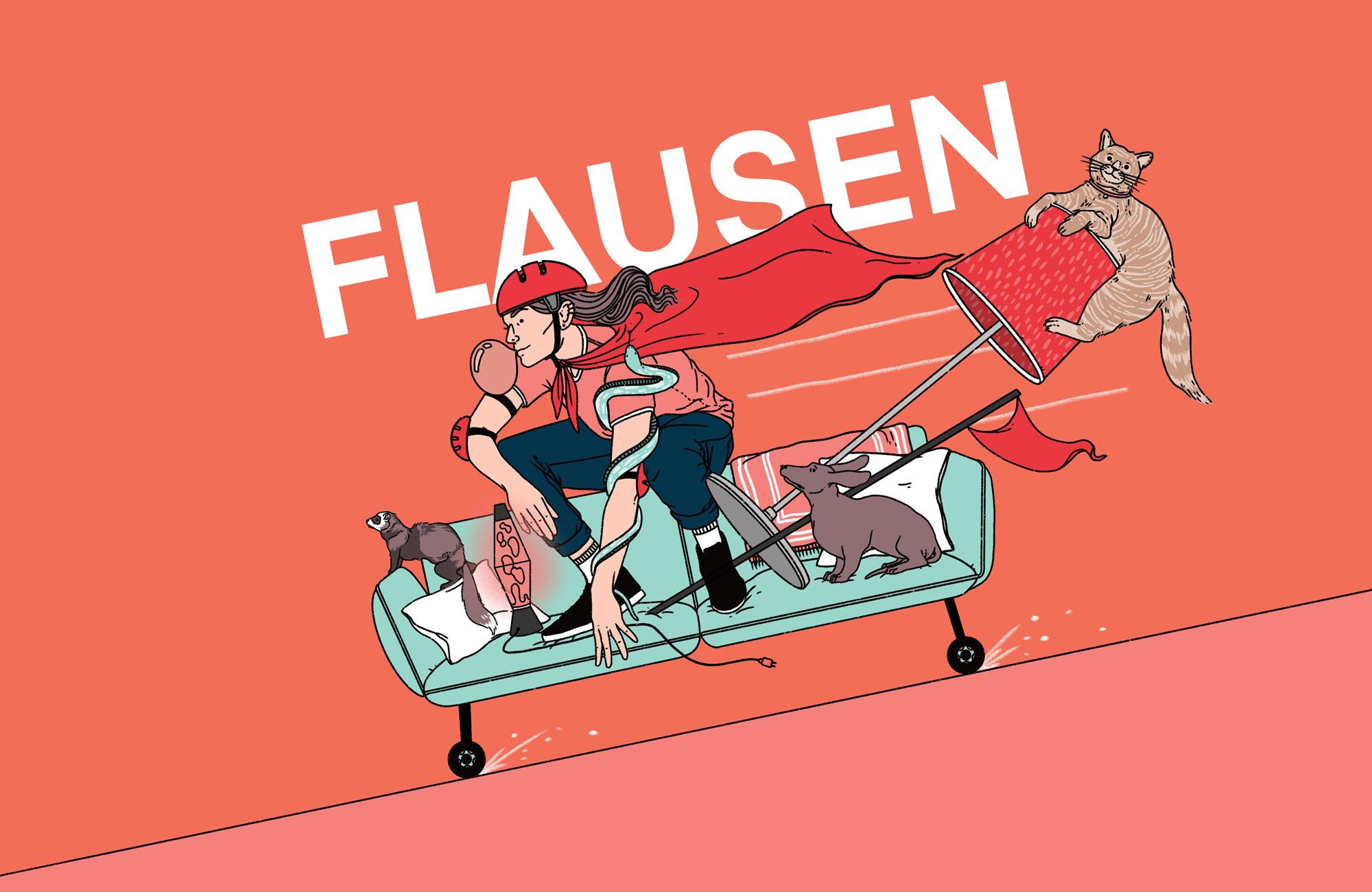 "Literaturpodcast ""Flausen"" - Folge 14"