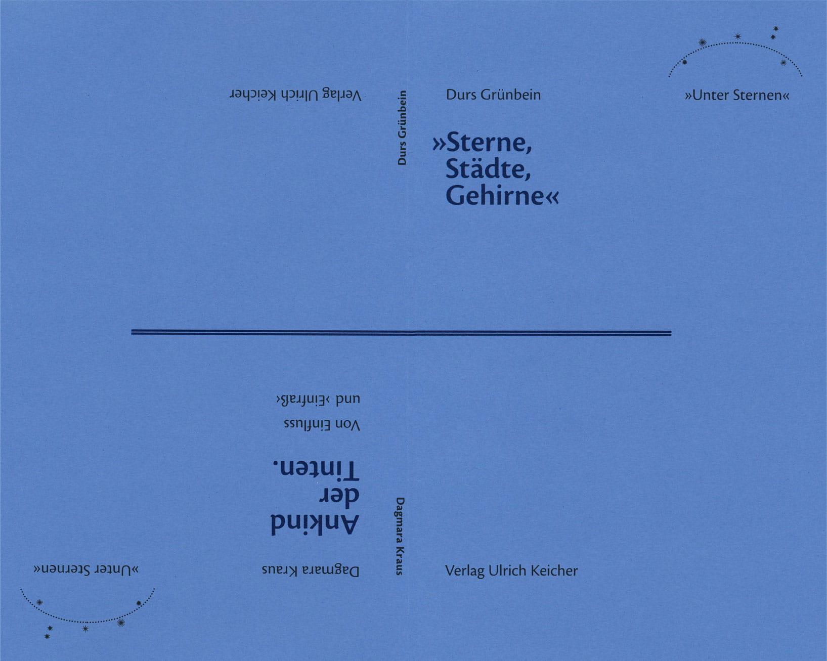 »Unter Sternen«. Neue Poesie und ihre Wahlverwandtschaften (Band 2)