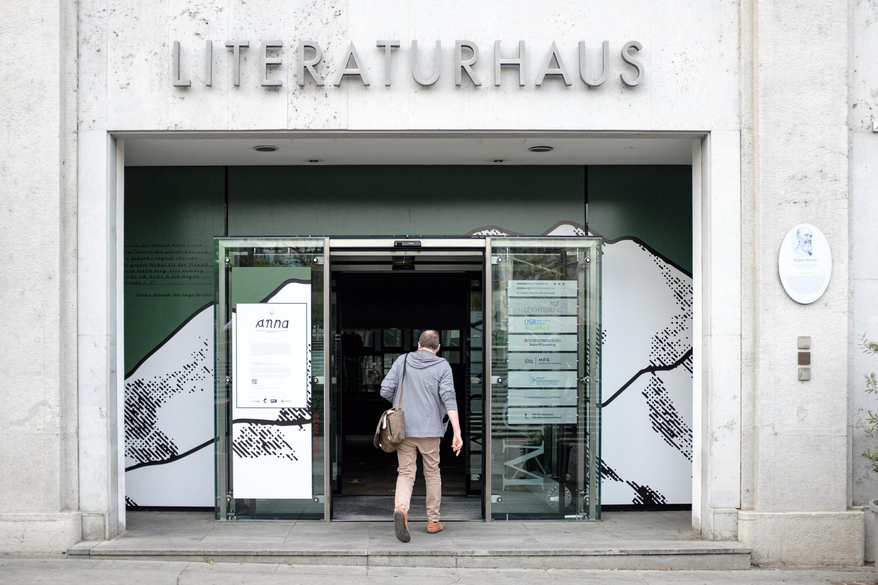 Willkommen im Literaturhaus!