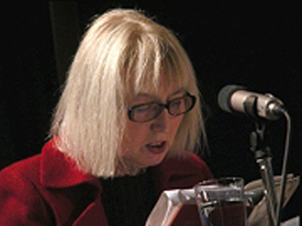 Birgitte Kronauer: Verlangen nach Musik und Gebirge, Mittwoch, 08.12.04               /                   20.00              Uhr <br/>(c) Heiner Wittmann