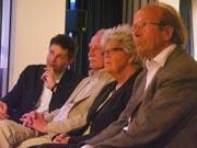 Sibylle Lewitscharoff, Friedrich Meckseper: Buch, Schnitt, Schädel, Spiel, Montag, 08.05.06               /                   20.00              Uhr <br/>(c) Heiner Wittmann