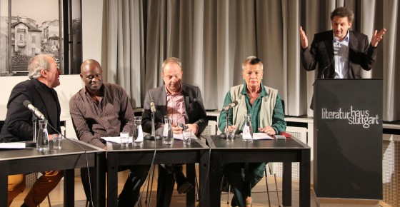 Alain Mabanckou, Michael Kumpfmüller: Carte Blanche,                                                               Mittwoch, 23.10.13               /                   20.00              Uhr                               <br/>(c) Heiner Wittmann