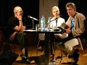 Heinrich Steinfest, Marica Bodrozic: Kroatien - Australien, Donnerstag, 22.06.06               /                   19.00              Uhr <br/>(c) Heiner Wittmann