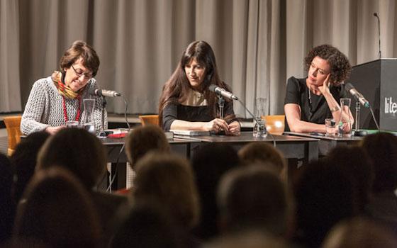 Maria Schrader, Zeruya Shalev: Für den Rest des Lebens,                                                             Mittwoch, 21.03.12               /                   20.00              Uhr                               <br/>(c) Sebastian Becker